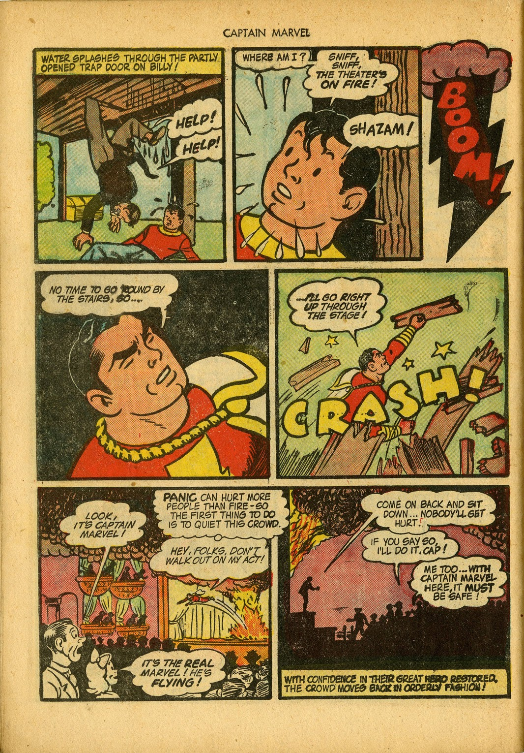Captain Marvel Adventures issue 34 - Page 46