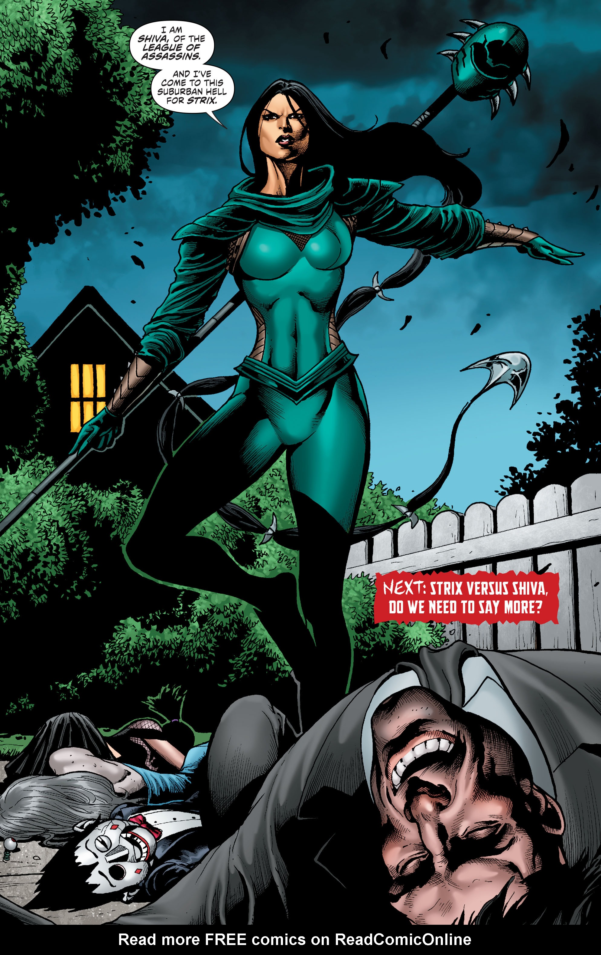 Read online Secret Six (2015) comic -  Issue #11 - 22