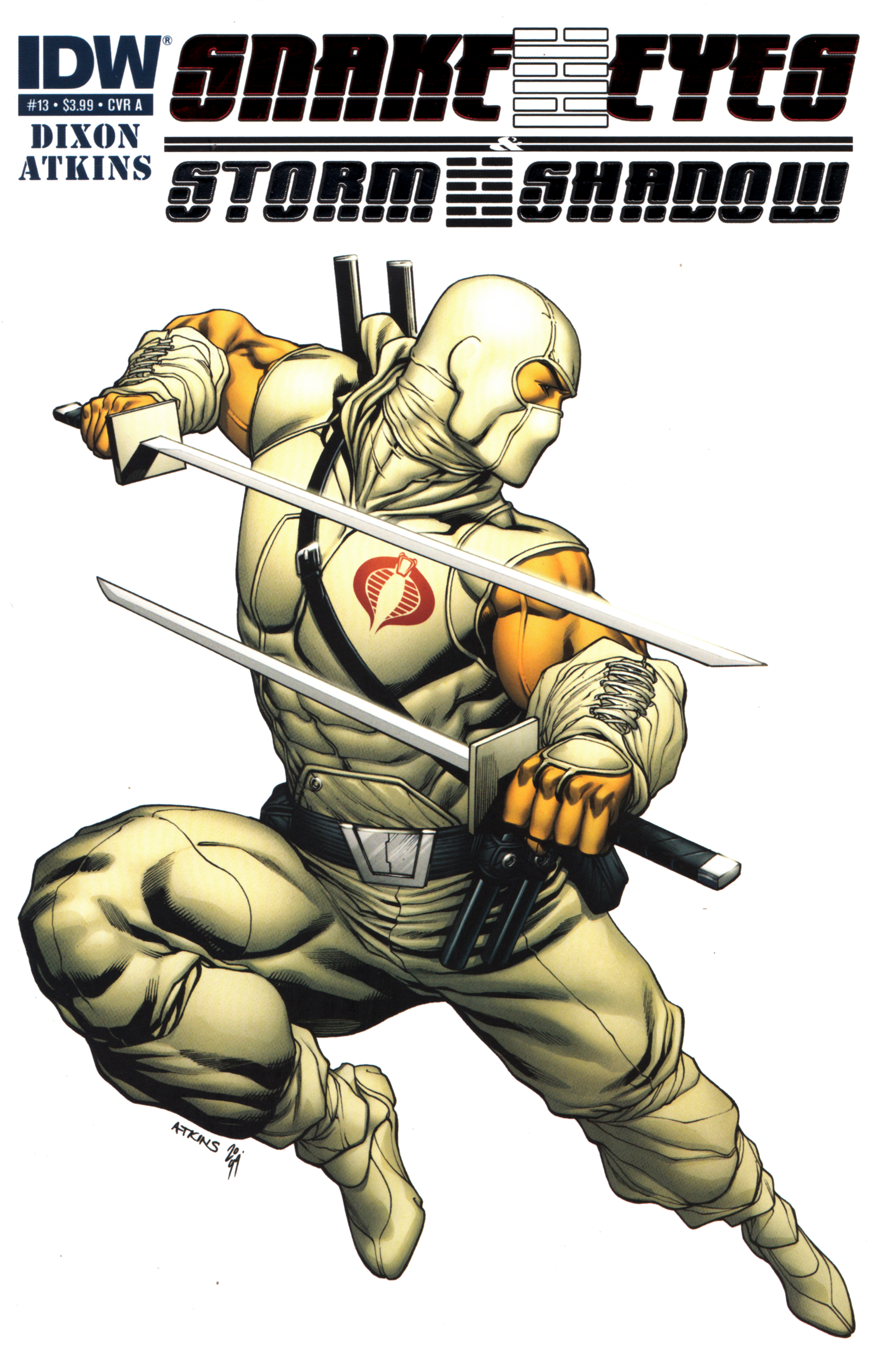 Read online Snake Eyes and Storm Shadow comic -  Issue #13 - 1