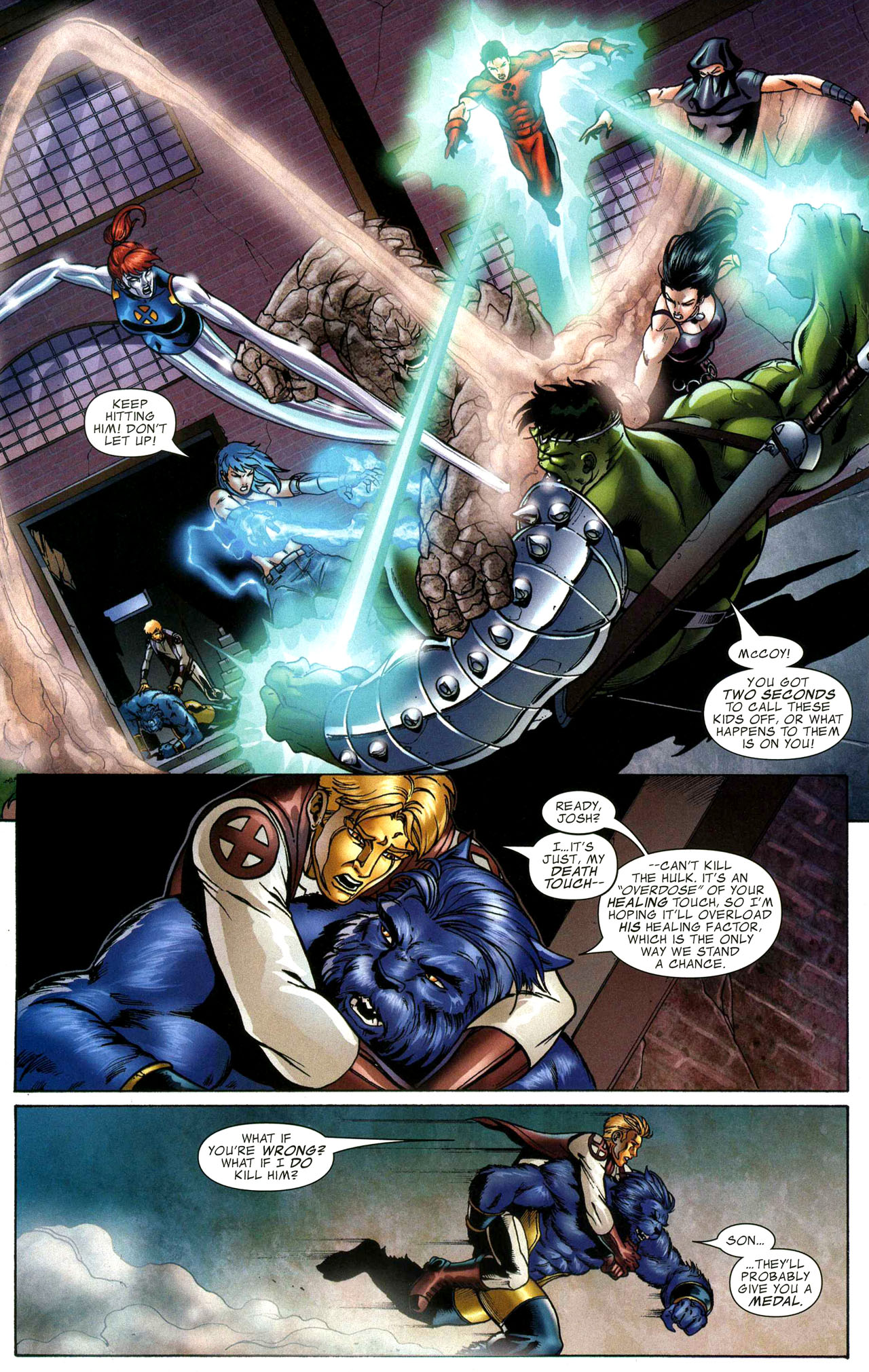 Read online World War Hulk: X-Men comic -  Issue #1 - 12