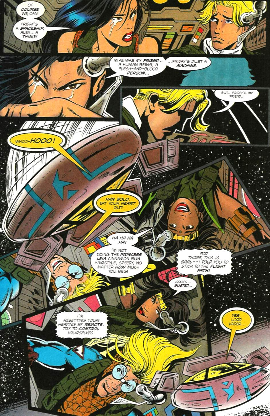 The New Warriors Issue #75 #79 - English 10