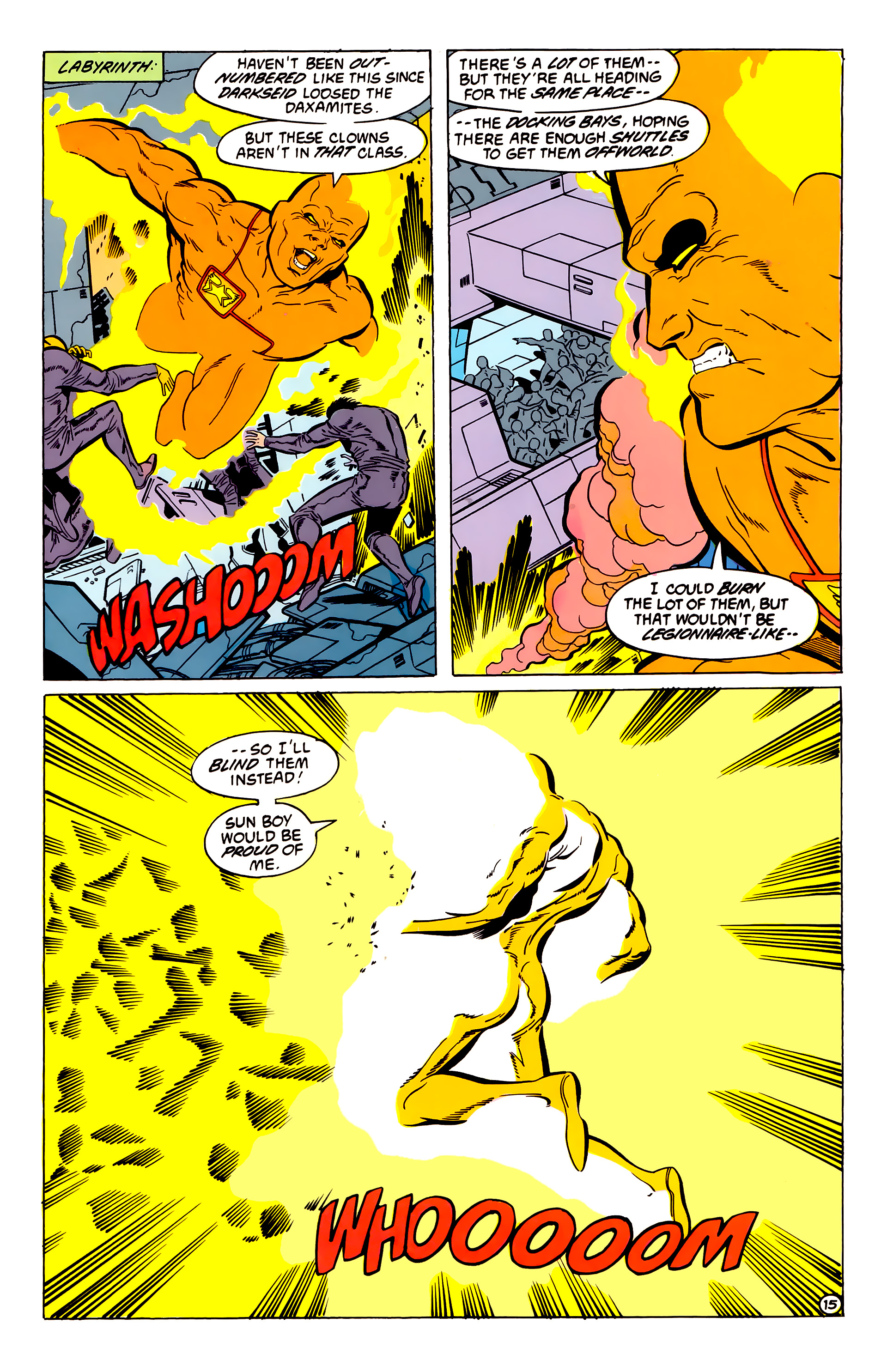 Legion of Super-Heroes (1984) 54 Page 15