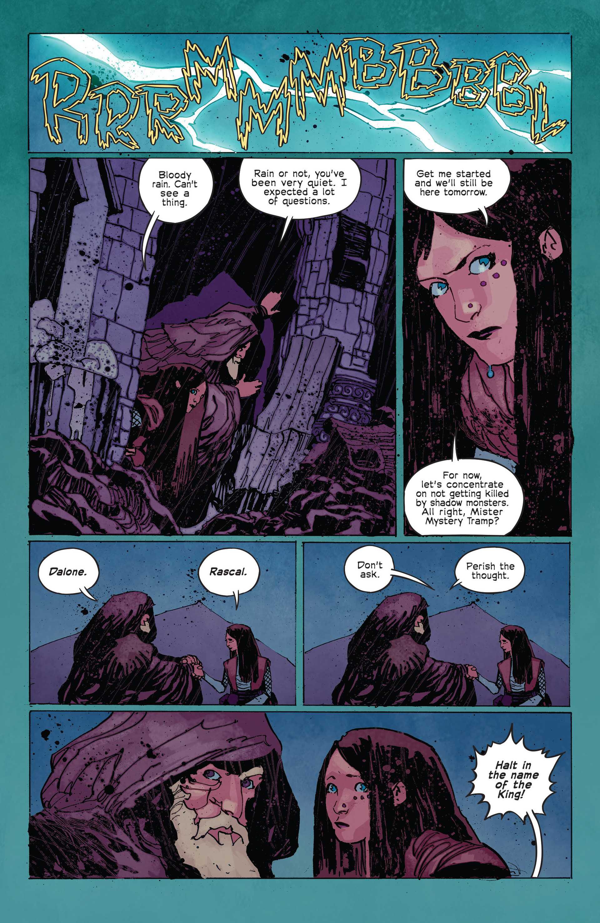 Read online Umbral comic -  Issue #2 - 13