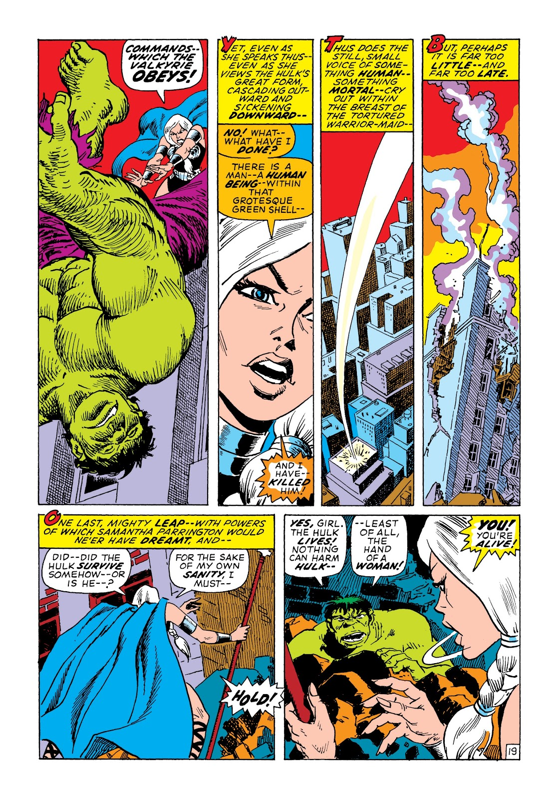 Read online Marvel Masterworks: The Incredible Hulk comic -  Issue # TPB 7 (Part 2) - 85