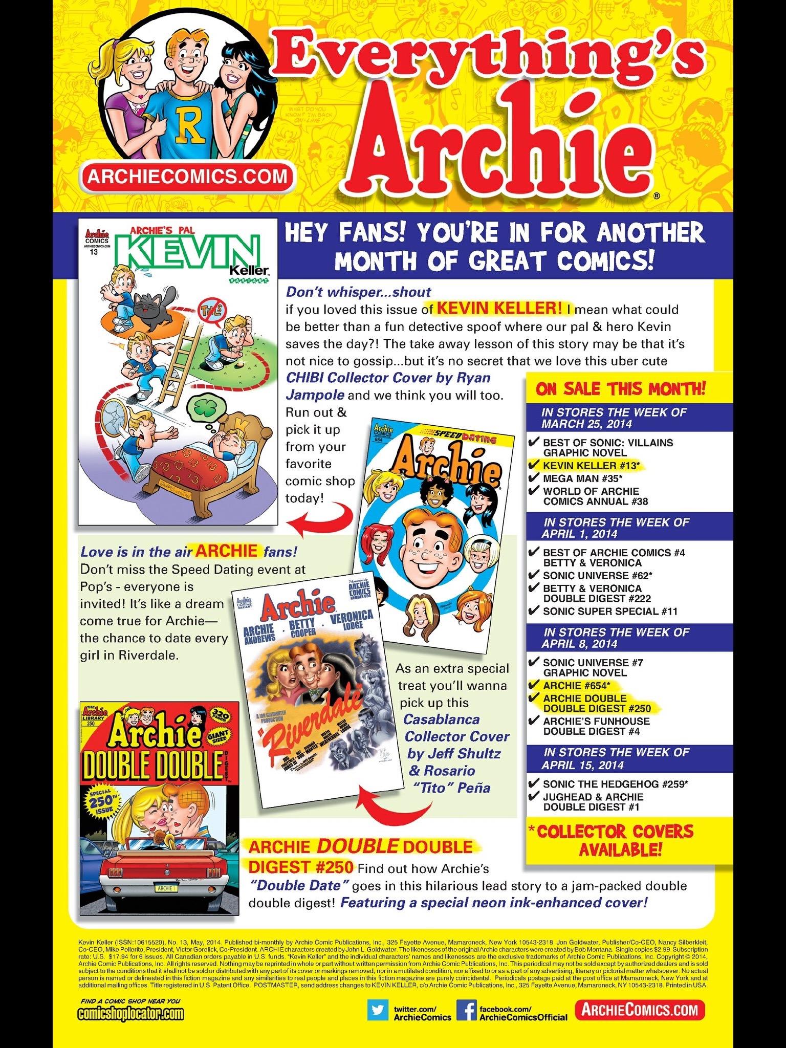 Read online Kevin Keller comic -  Issue #13 - 24