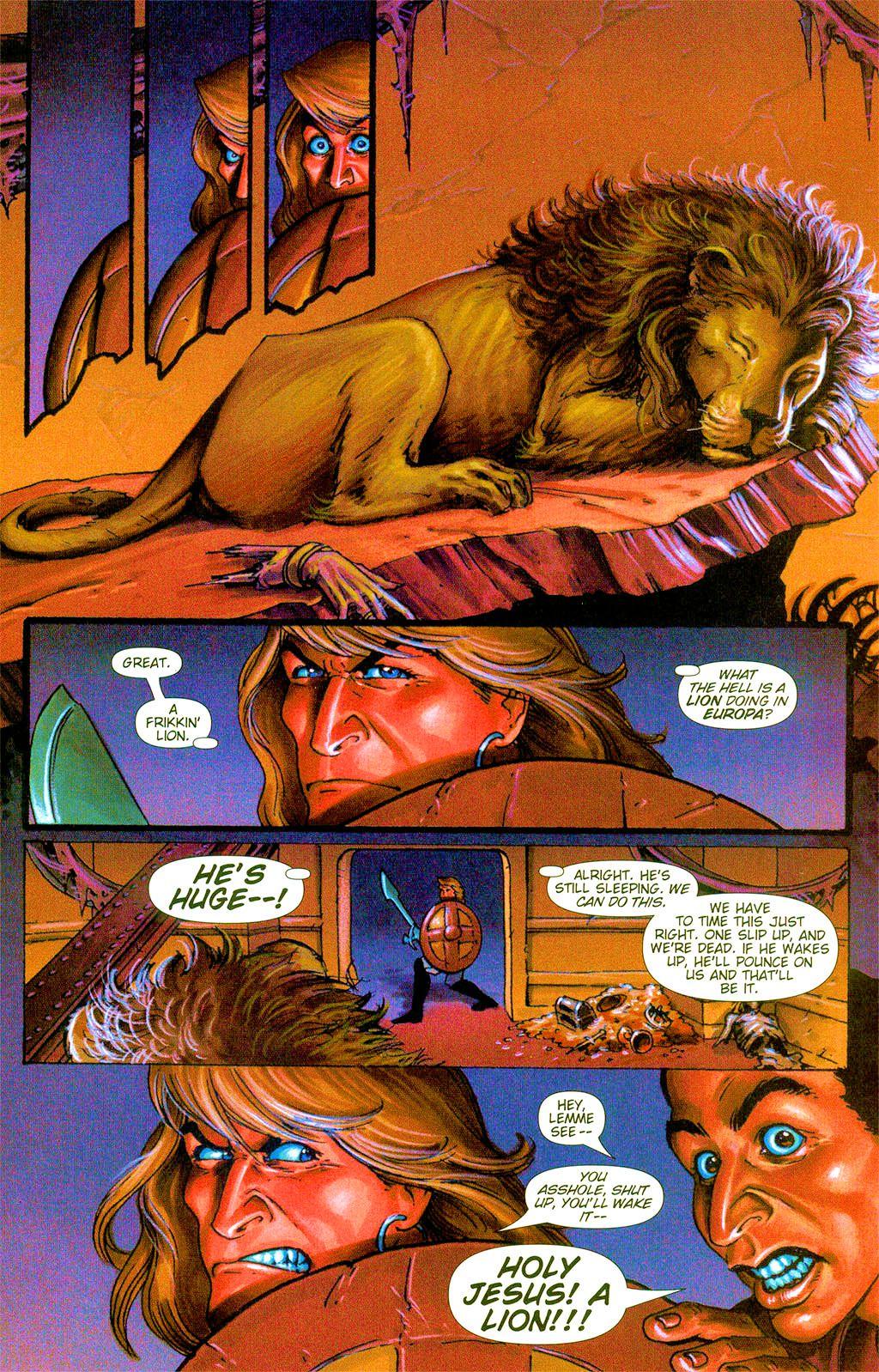 Read online Dawn: Three Tiers comic -  Issue #3 - 14