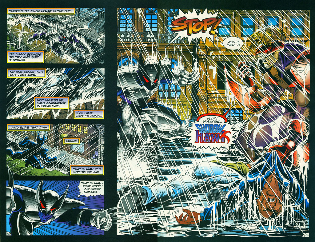 Read online ShadowHawk comic -  Issue #6 - 17