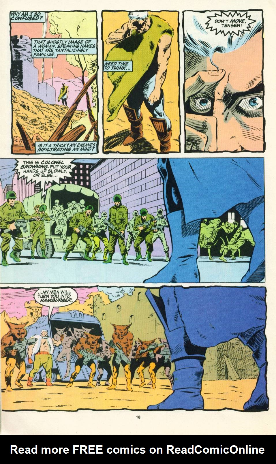 Read online Justice (1986) comic -  Issue #22 - 19