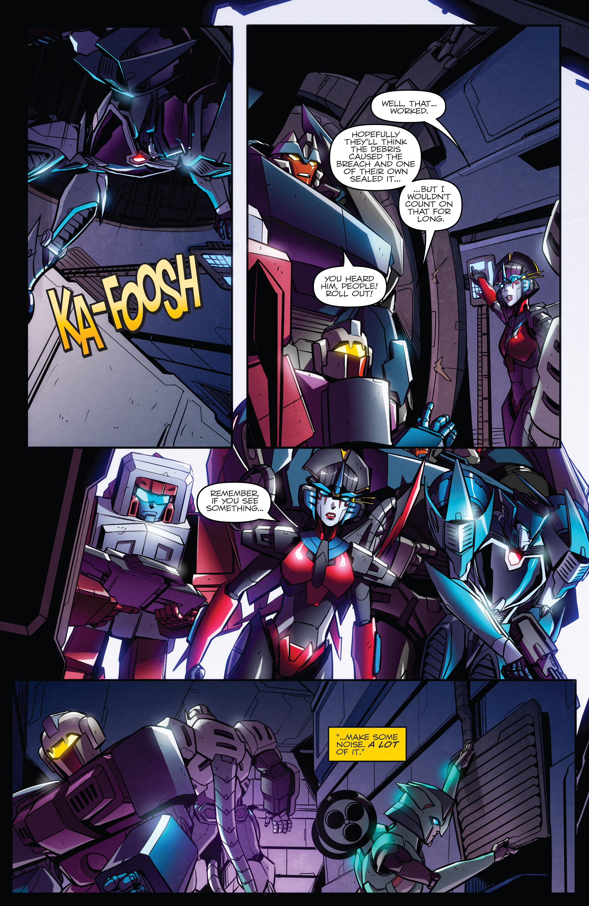 Read online Transformers: Till All Are One comic -  Issue #7 - 15