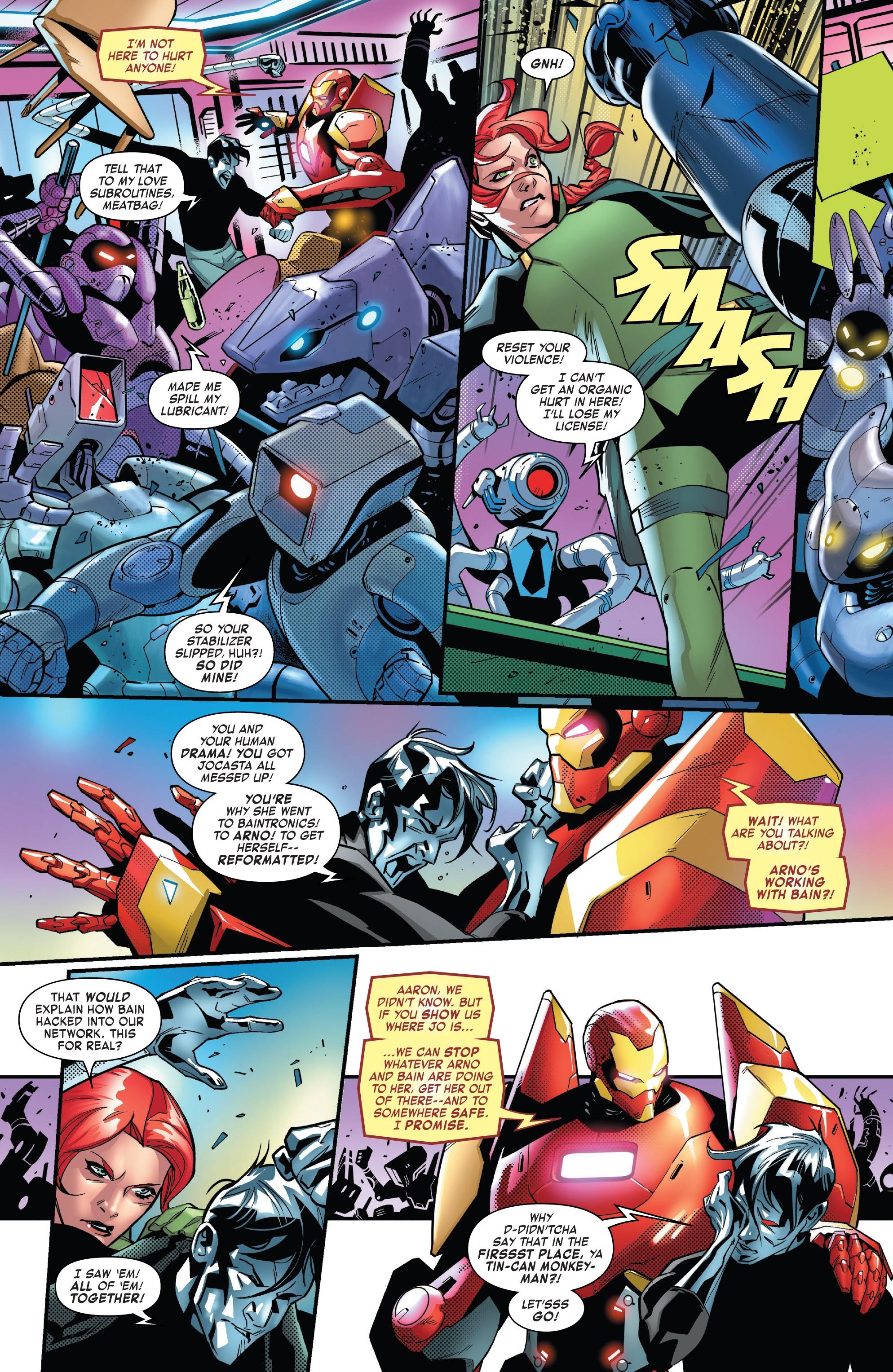 Read online Tony Stark: Iron Man comic -  Issue #16 - 10