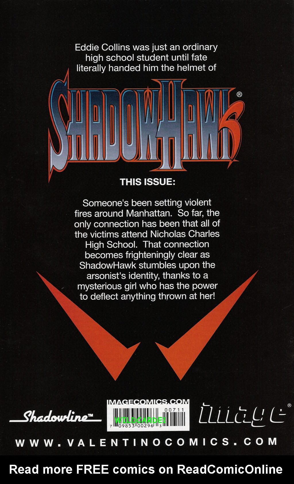 Read online ShadowHawk (2005) comic -  Issue #7 - 31