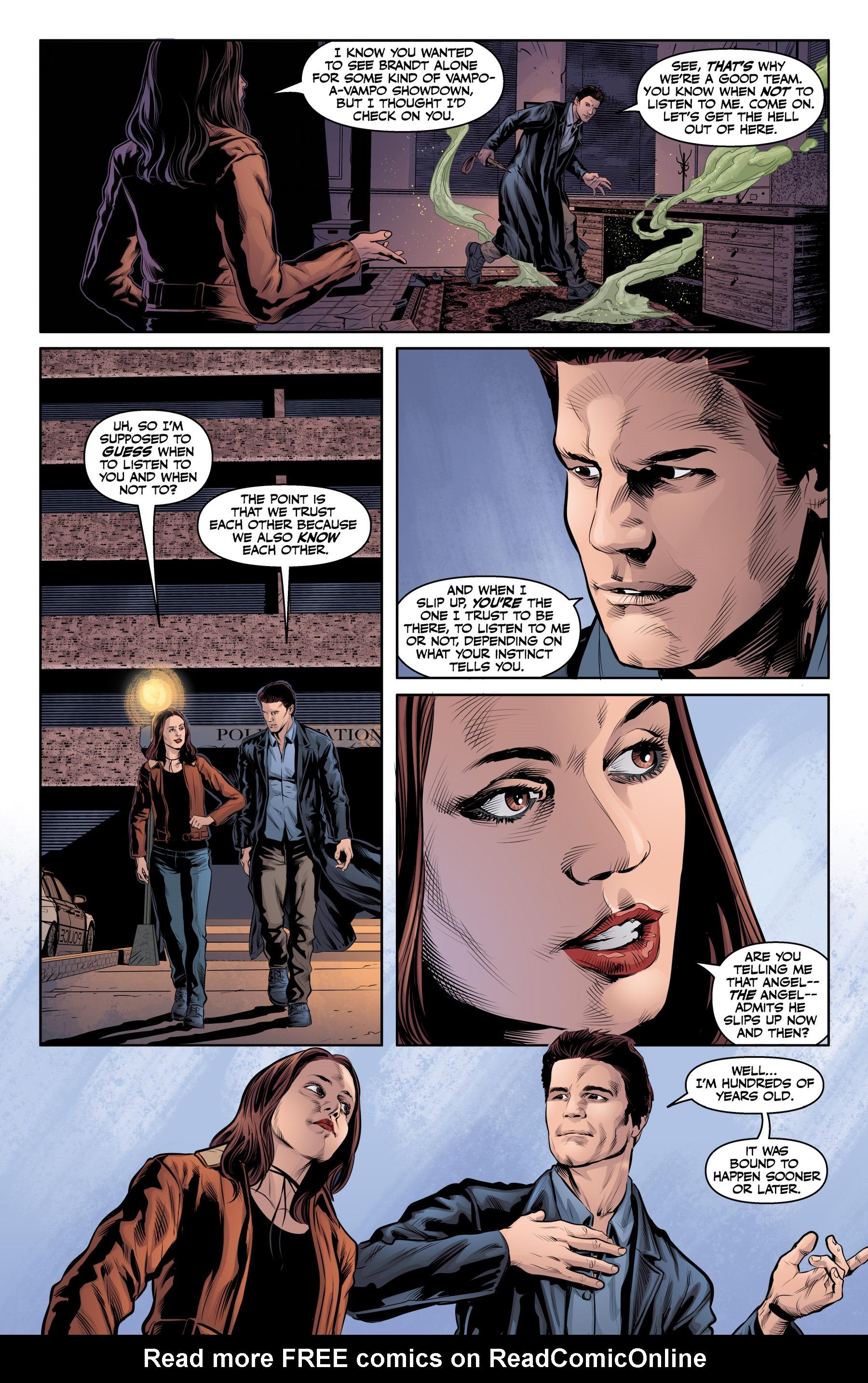 Read online Angel & Faith Season 10 comic -  Issue #23 - 16