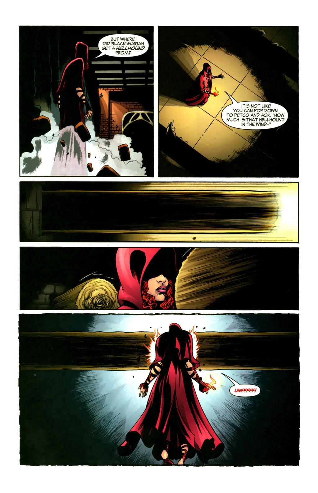 Read online Fallen Angel (2003) comic -  Issue #9 - 18