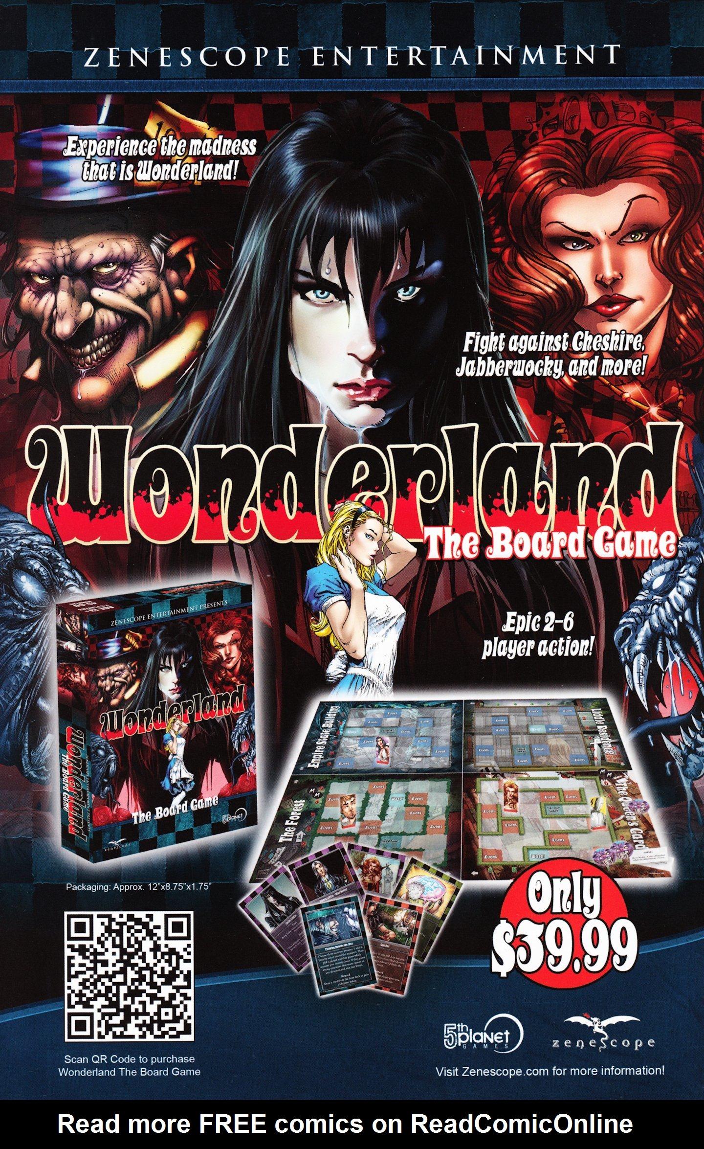 Read online Grimm Fairy Tales vs. Wonderland comic -  Issue #3 - 28