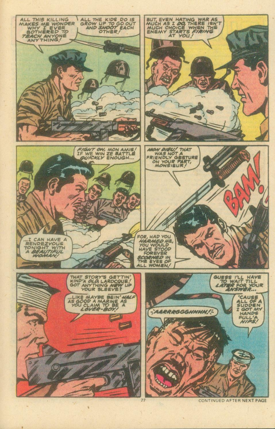 Read online Sgt. Fury comic -  Issue #154 - 29