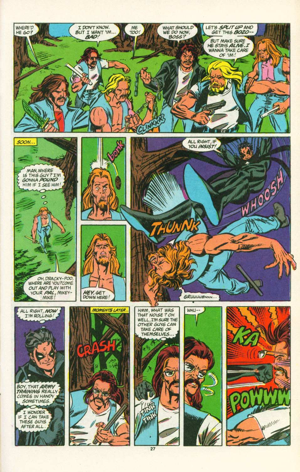Read online Justice (1986) comic -  Issue #25 - 28