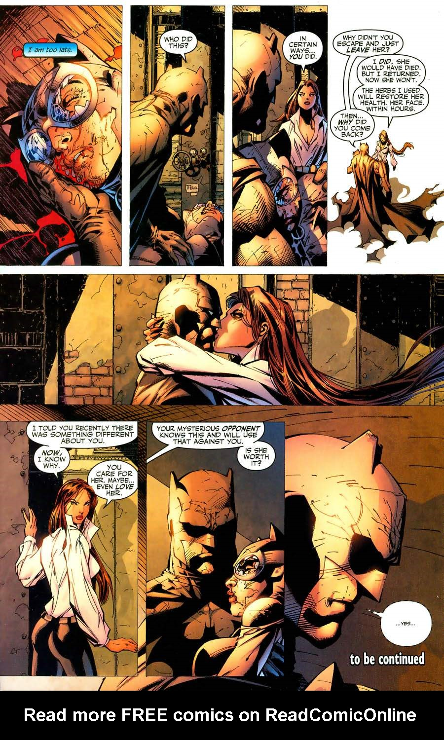 Batman: Hush 9 Page 22