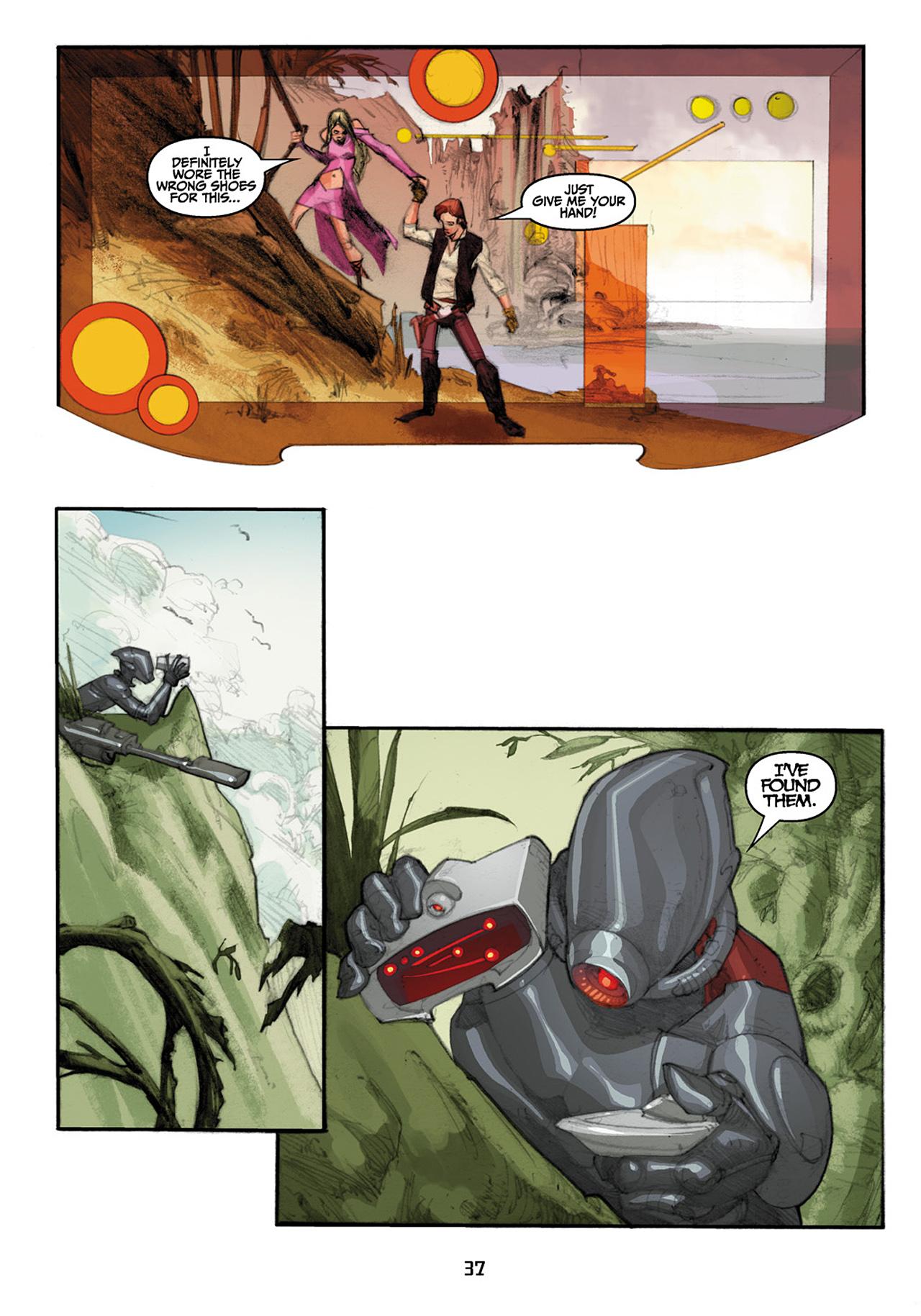 Read online Star Wars Omnibus comic -  Issue # Vol. 33 - 119