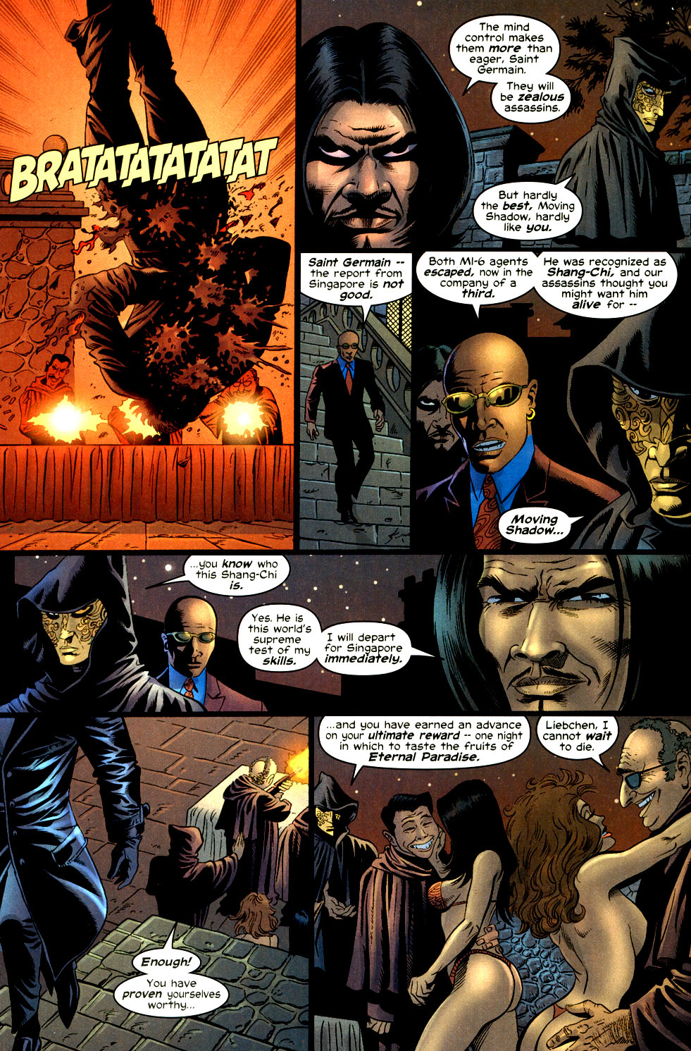 Read online Shang-Chi: Master of Kung Fu comic -  Issue #2 - 10