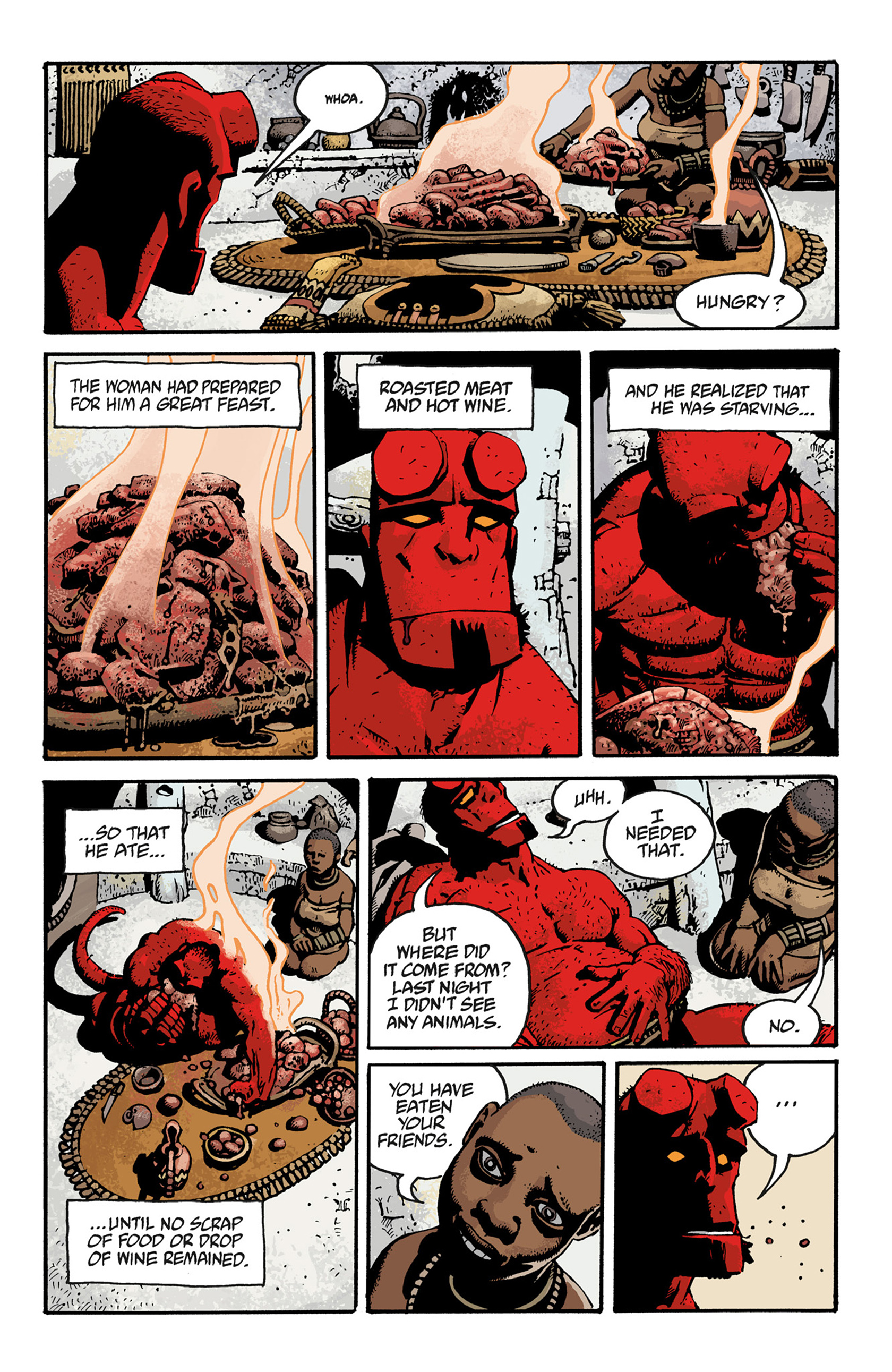 Read online Hellboy: The Troll Witch and Others comic -  Issue # TPB - 119