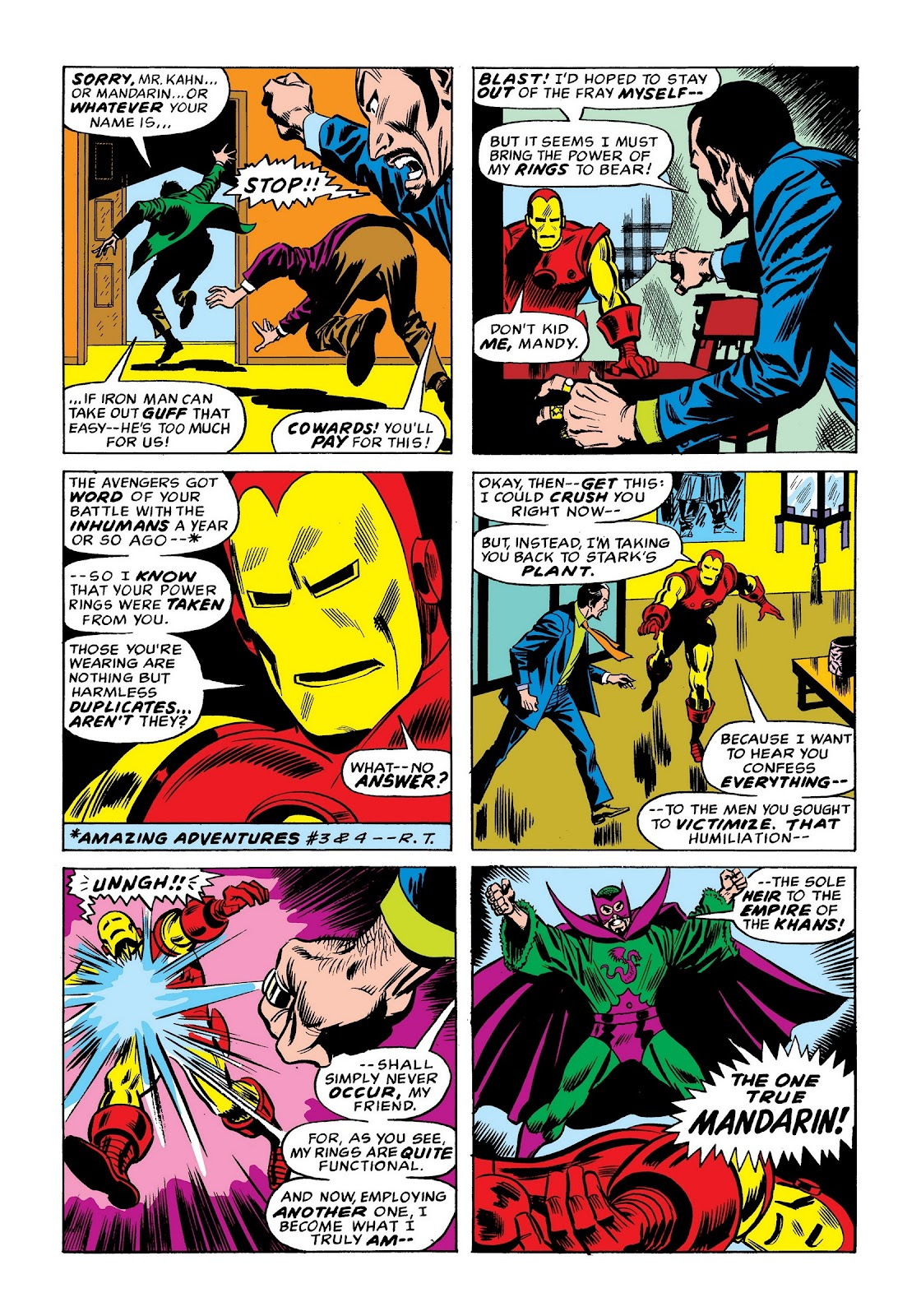 Read online Marvel Masterworks: The Invincible Iron Man comic -  Issue # TPB 9 (Part 1) - 79