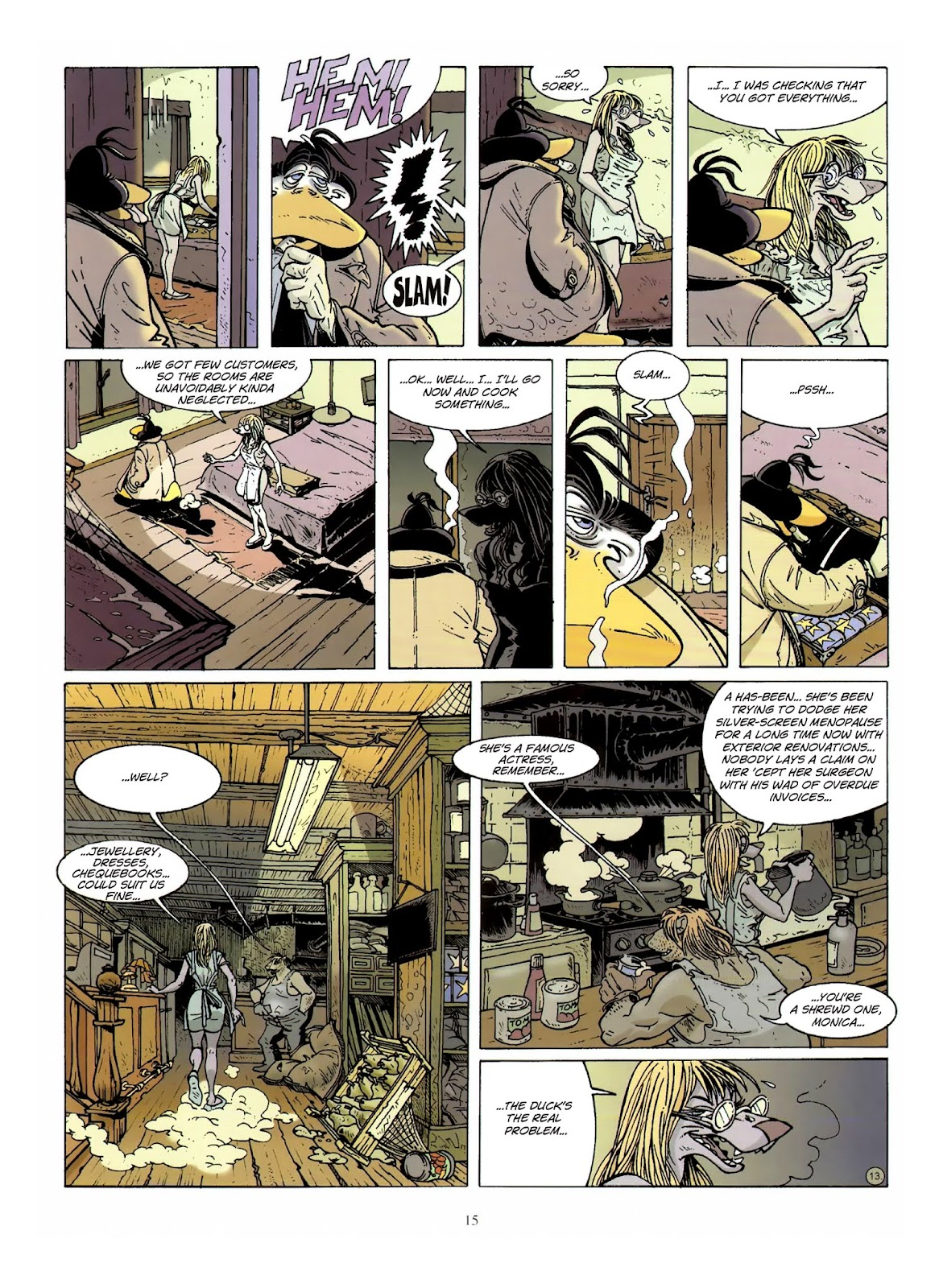 Une enquête de l'inspecteur Canardo issue 10 - Page 16