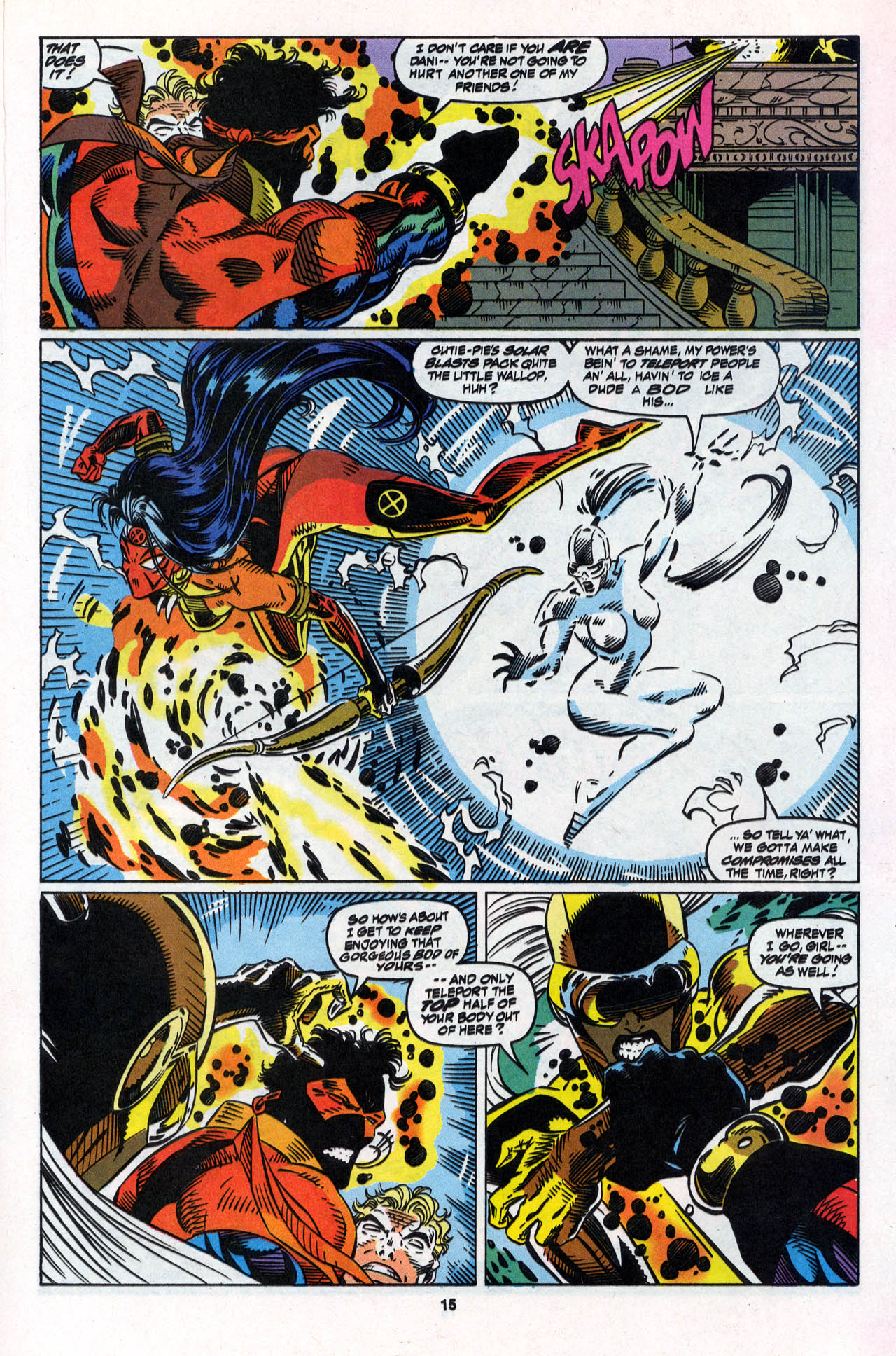 Read online X-Force (1991) comic -  Issue #28 - 16
