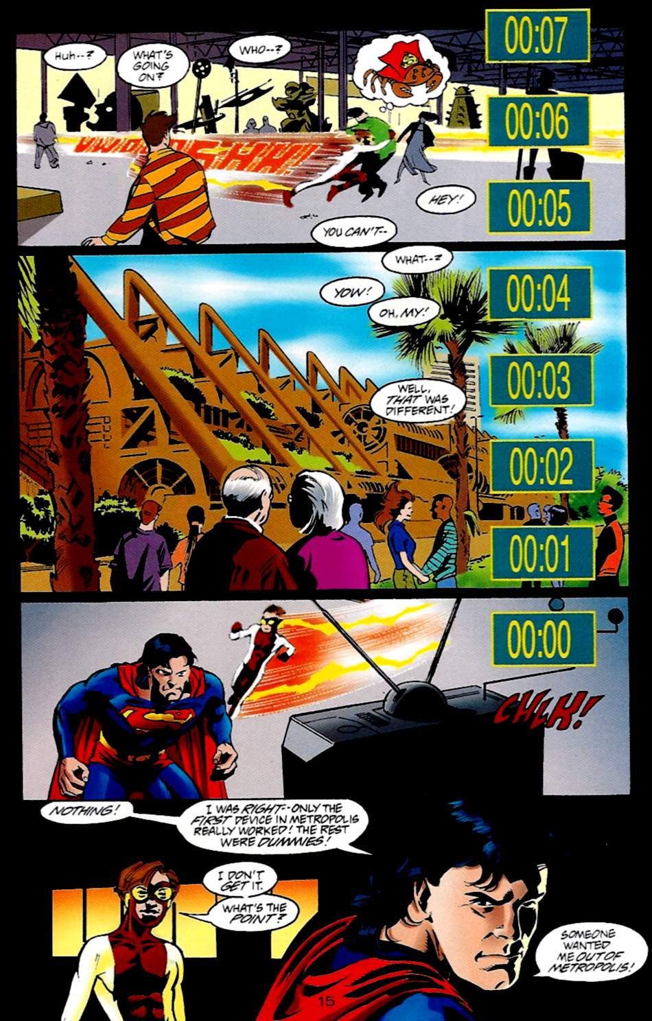 Read online Adventures of Superman (1987) comic -  Issue #533 - 16