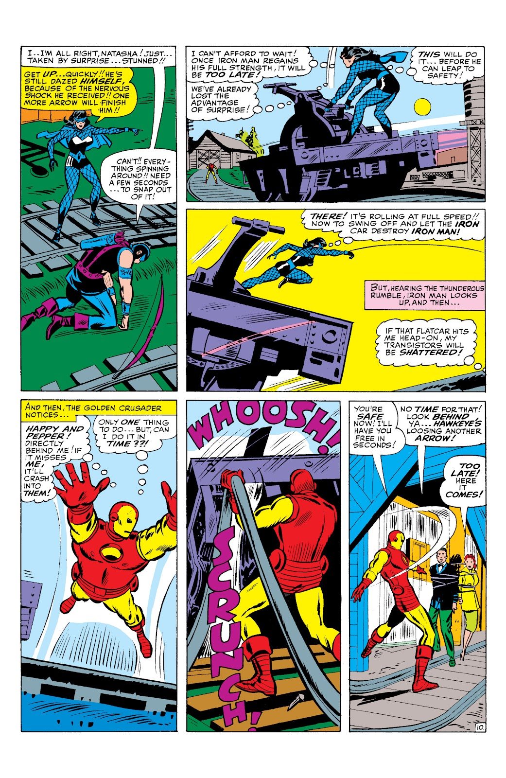 Read online Marvel Masterworks: The Invincible Iron Man comic -  Issue # TPB 2 (Part 3) - 24