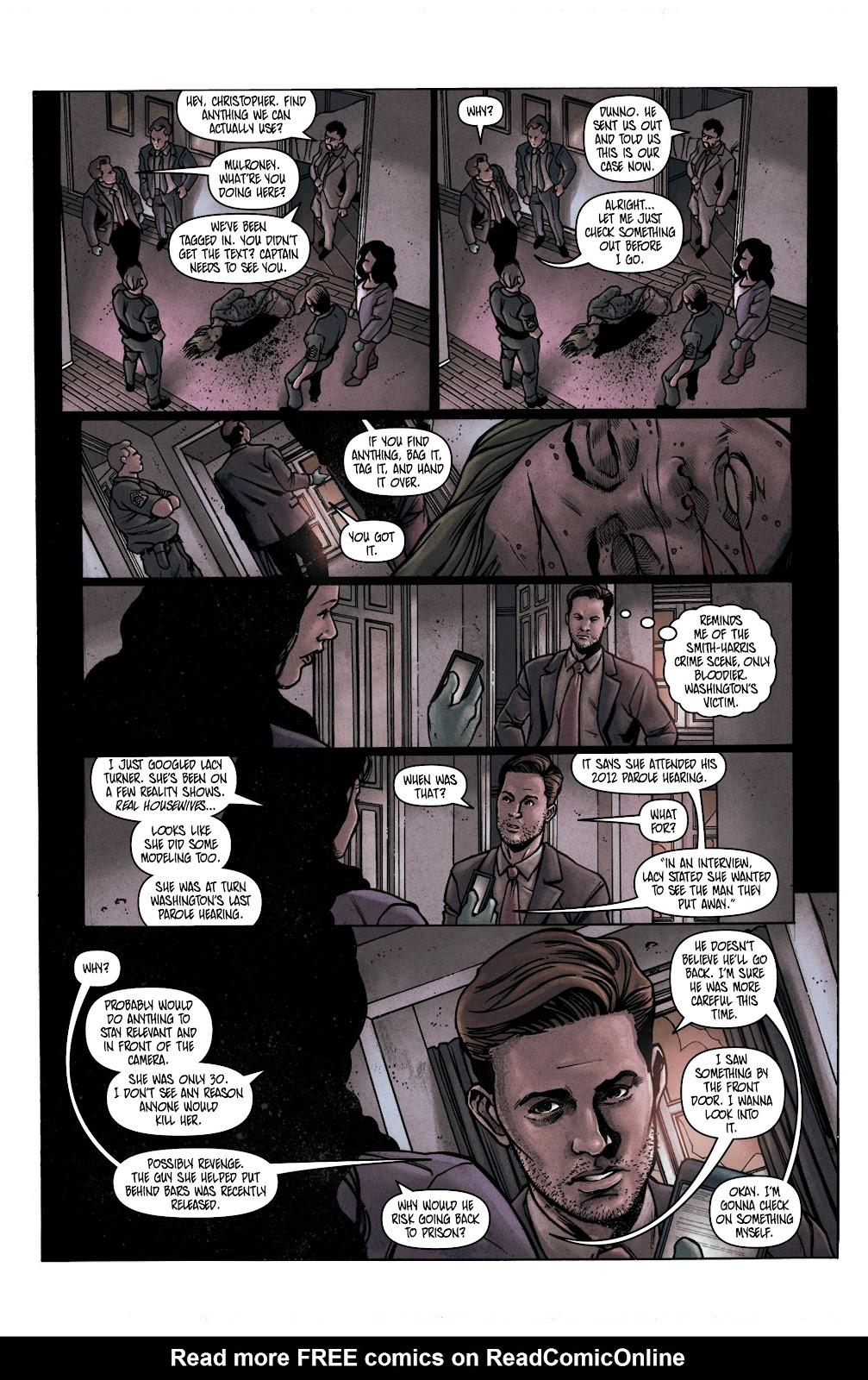 Read online Vindication comic -  Issue #1 - 16