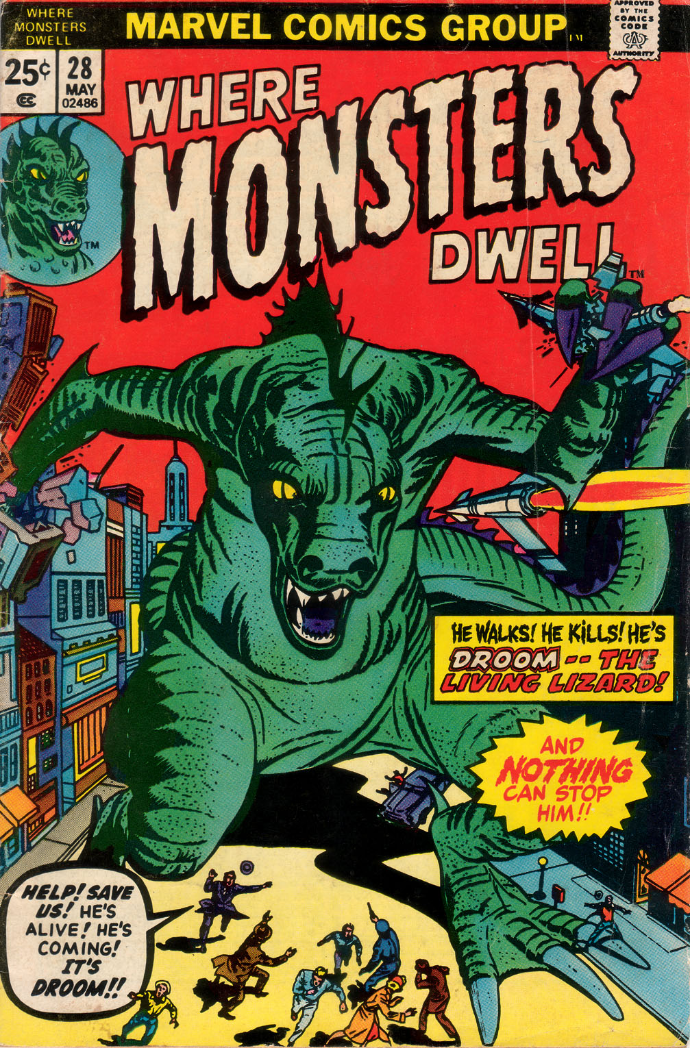 Where Monsters Dwell (1970) issue 28 - Page 1