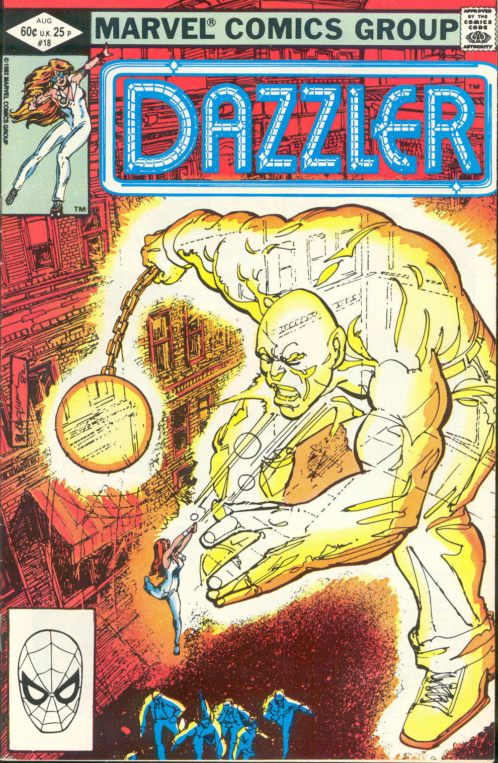 Dazzler (1981) 18 Page 1