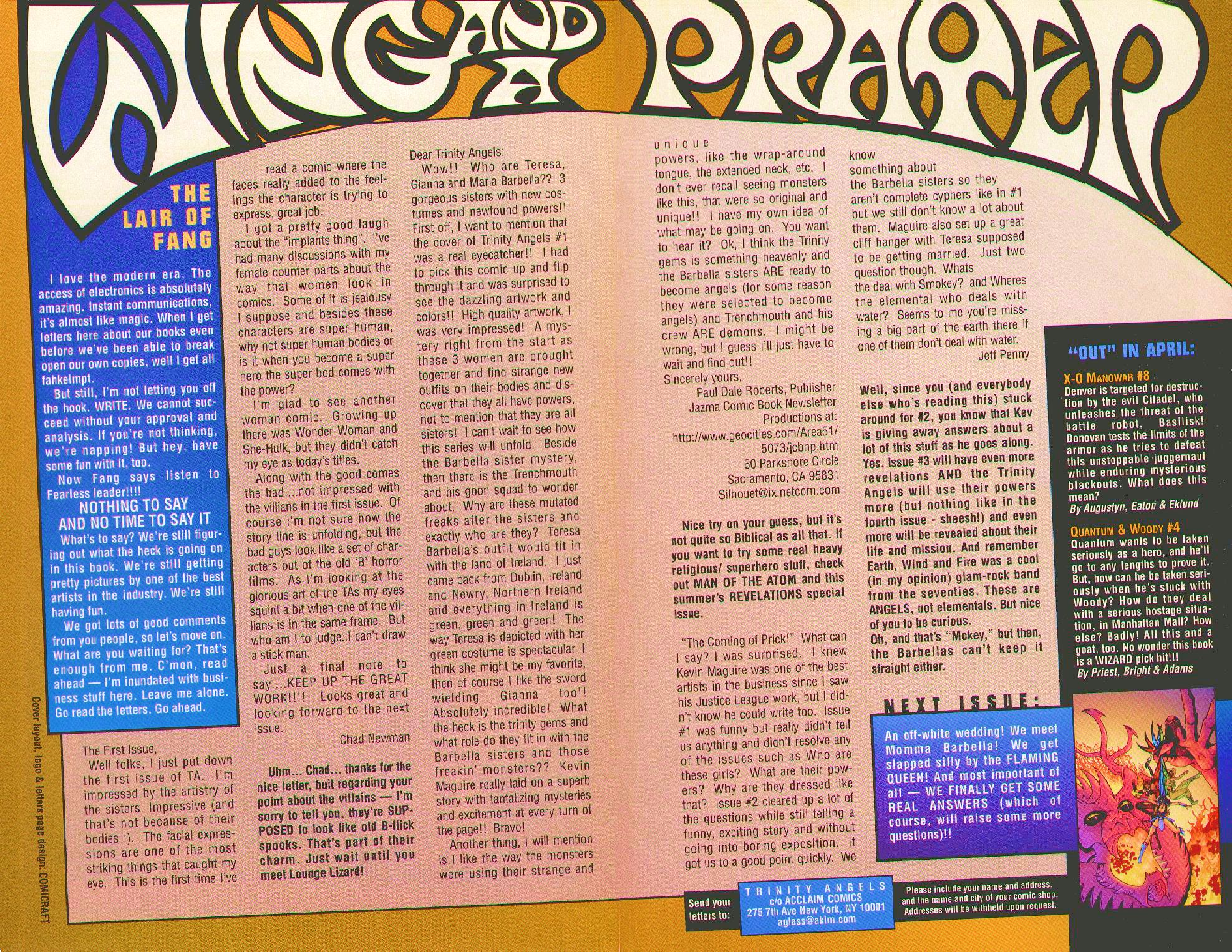Read online Trinity Angels comic -  Issue #3 - 23