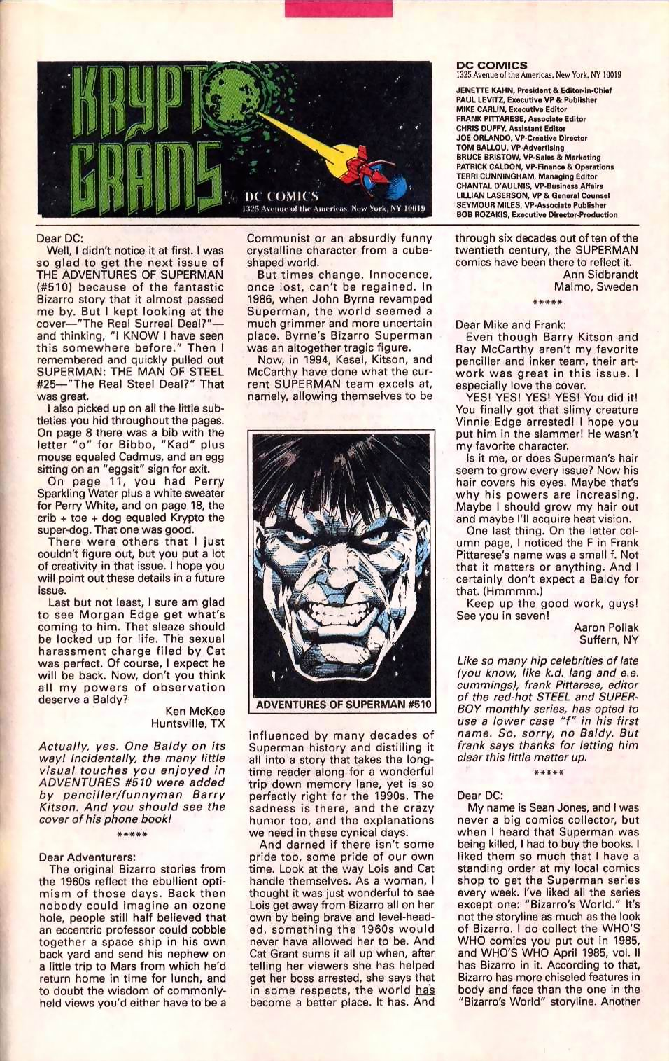Read online Adventures of Superman (1987) comic -  Issue #514 - 24