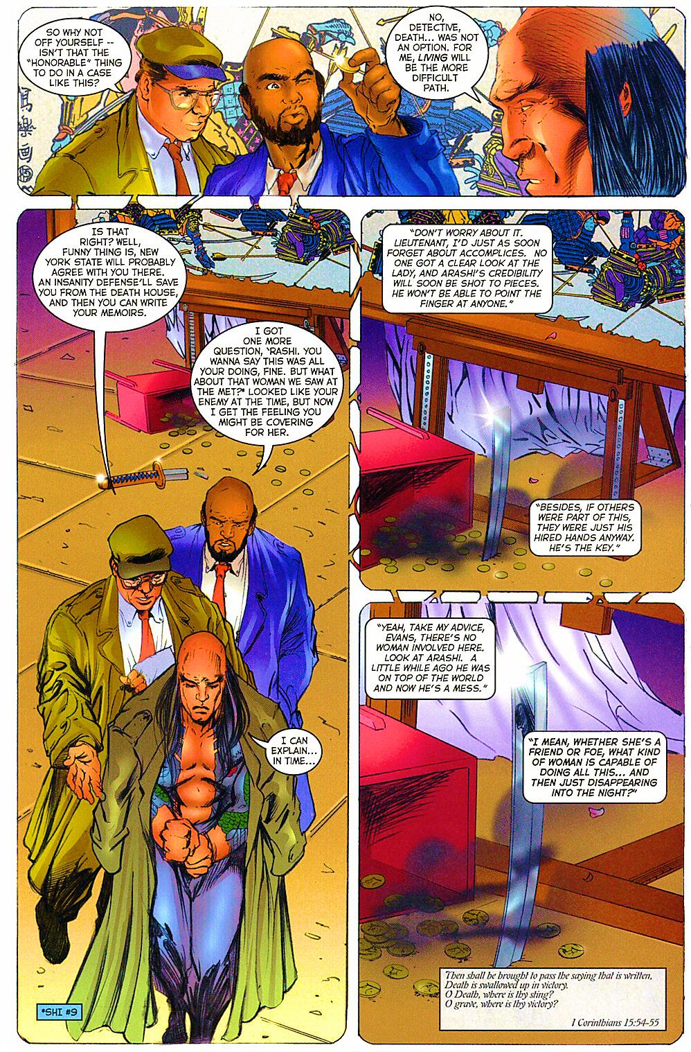 Read online Shi: The Way of the Warrior comic -  Issue #12 - 25