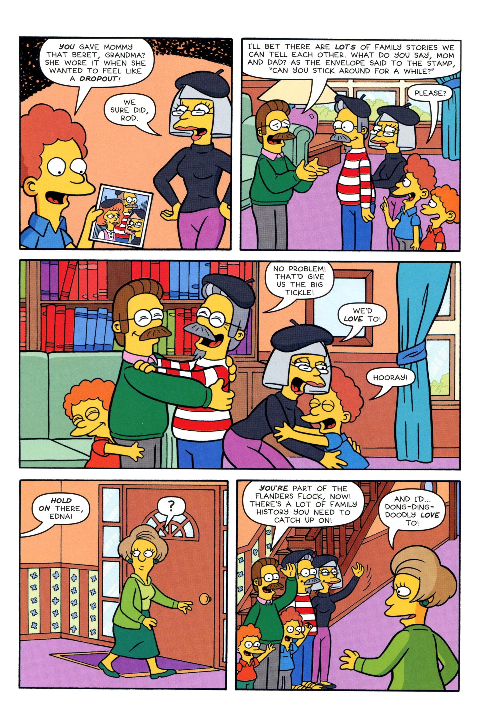 Read online Simpsons Comics comic -  Issue #204 - 23