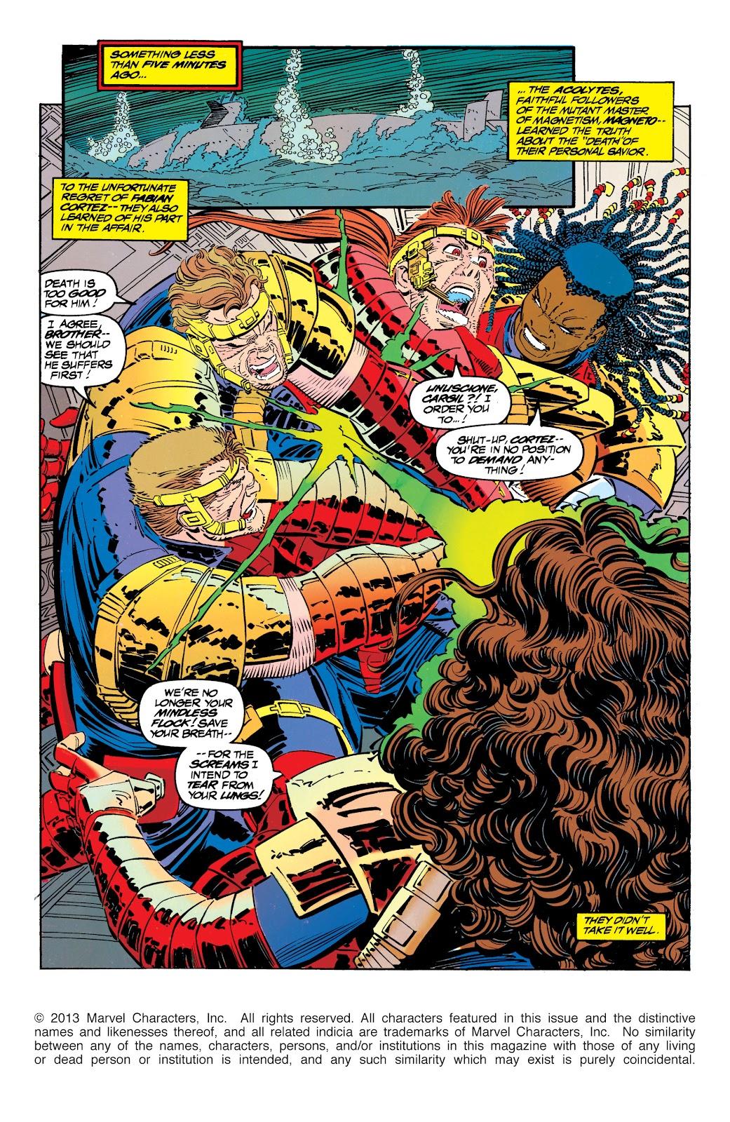 Uncanny X-Men (1963) issue 304 - Page 2