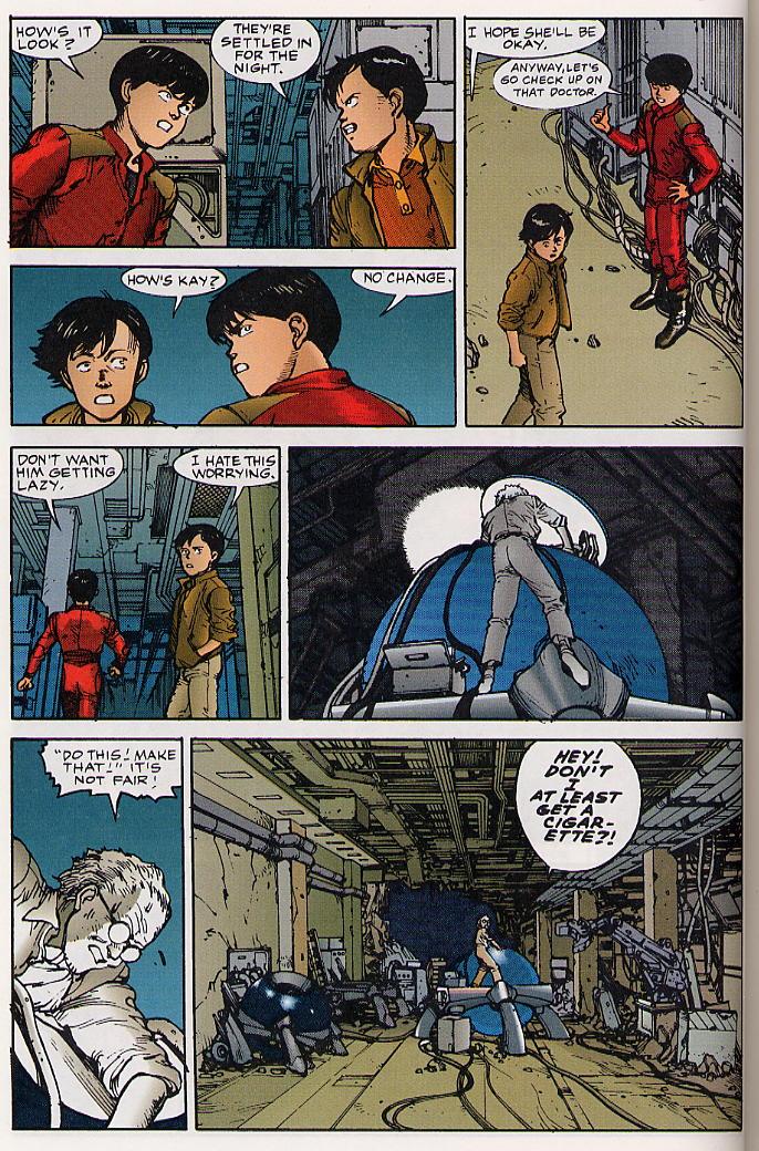 Read online Akira comic -  Issue #26 - 35