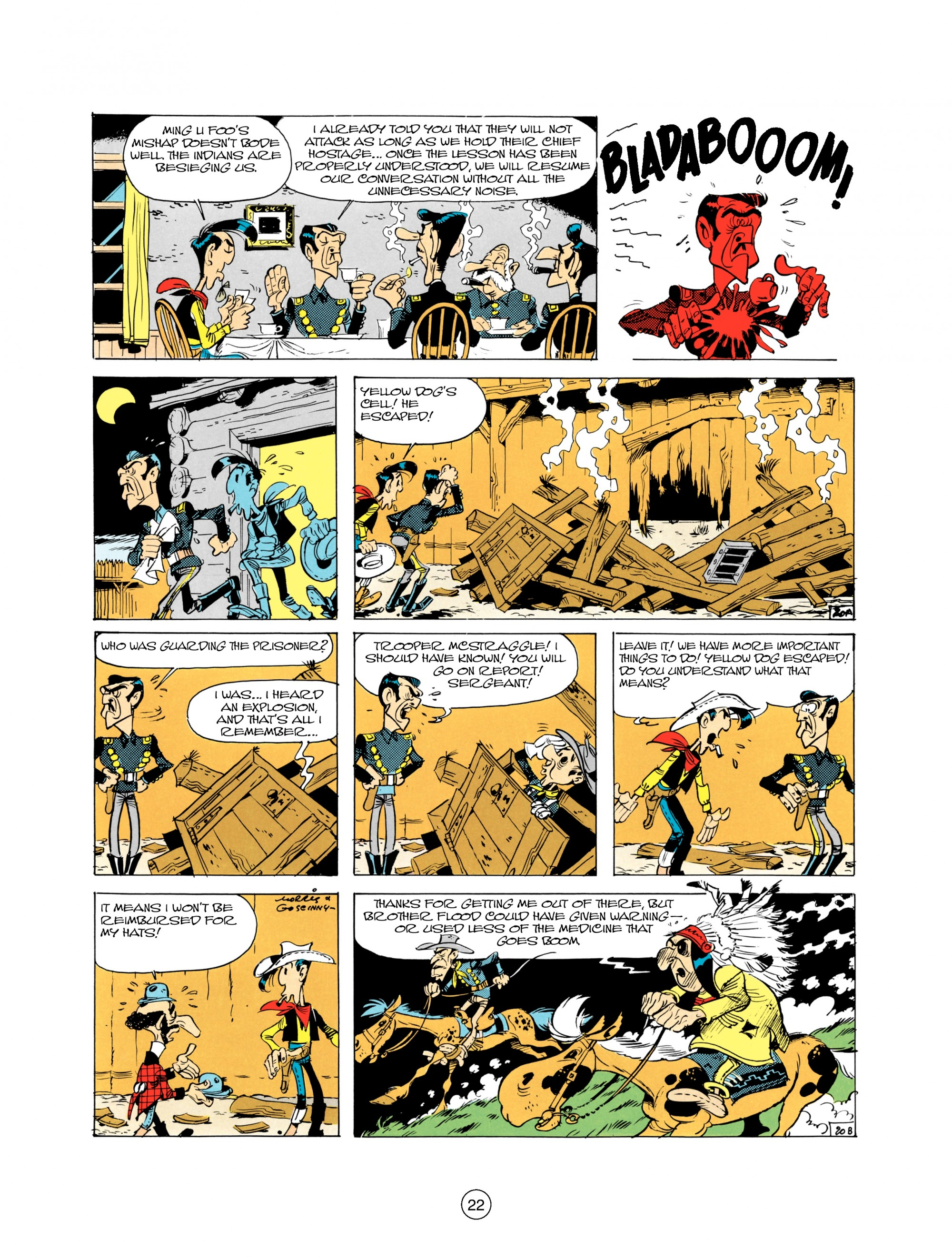 Read online A Lucky Luke Adventure comic -  Issue #21 - 22