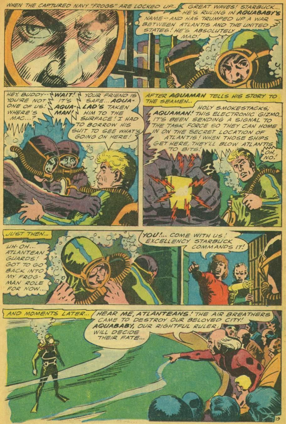 Read online Aquaman (1962) comic -  Issue #28 - 25