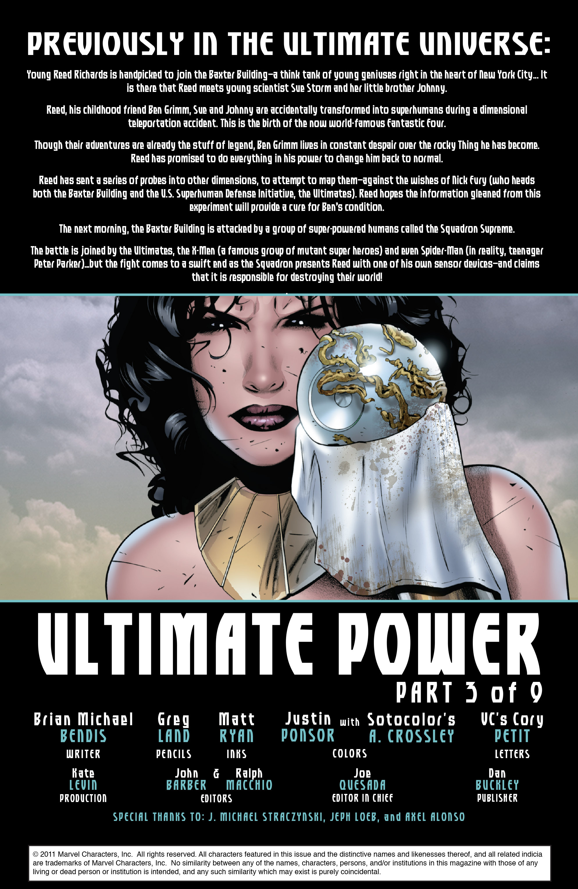 Read online Ultimate Power comic -  Issue #3 - 2