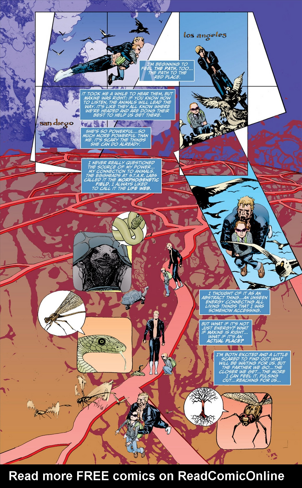 Read online Animal Man (2011) comic -  Issue #2 - 16