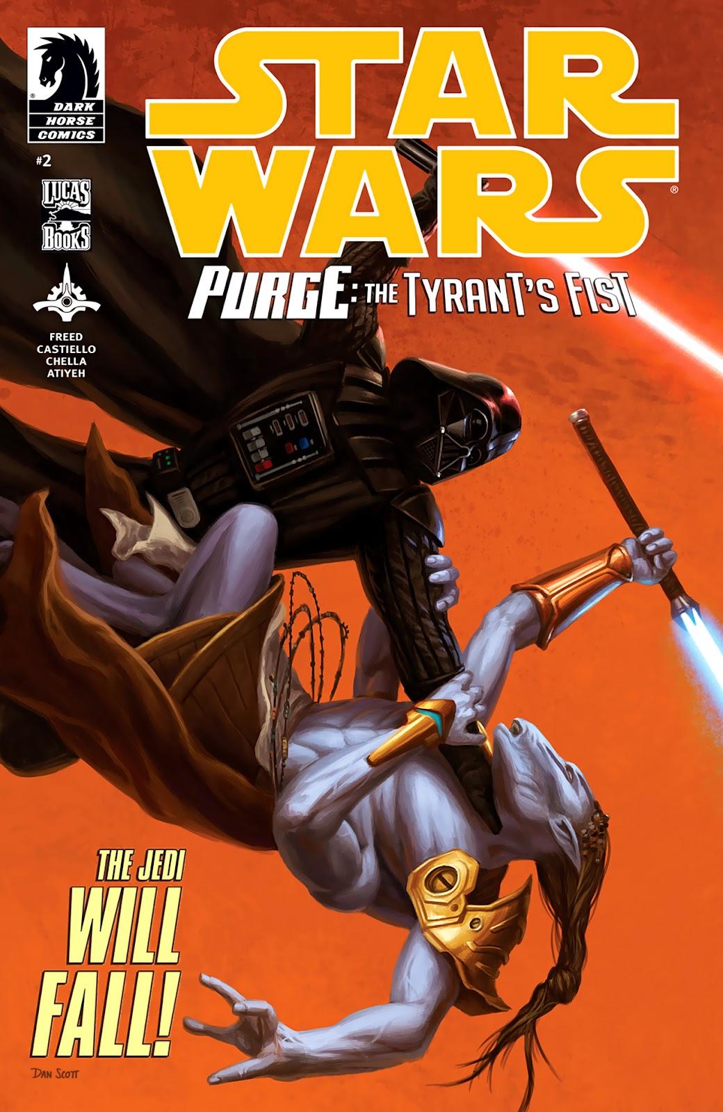 Star Wars: Purge - The Tyrants Fist 2 Page 1