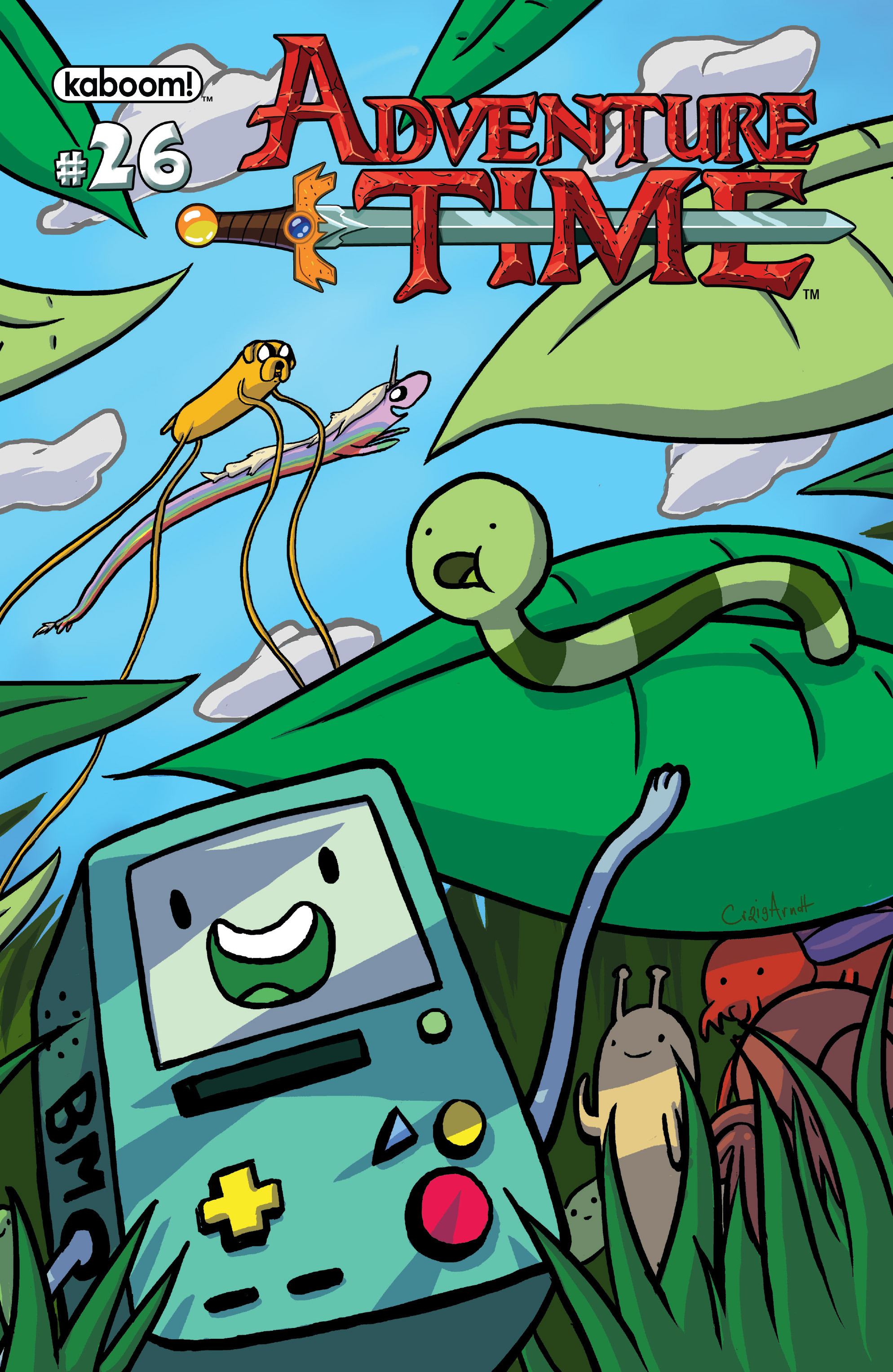 Read online Adventure Time comic -  Issue #26 - 2