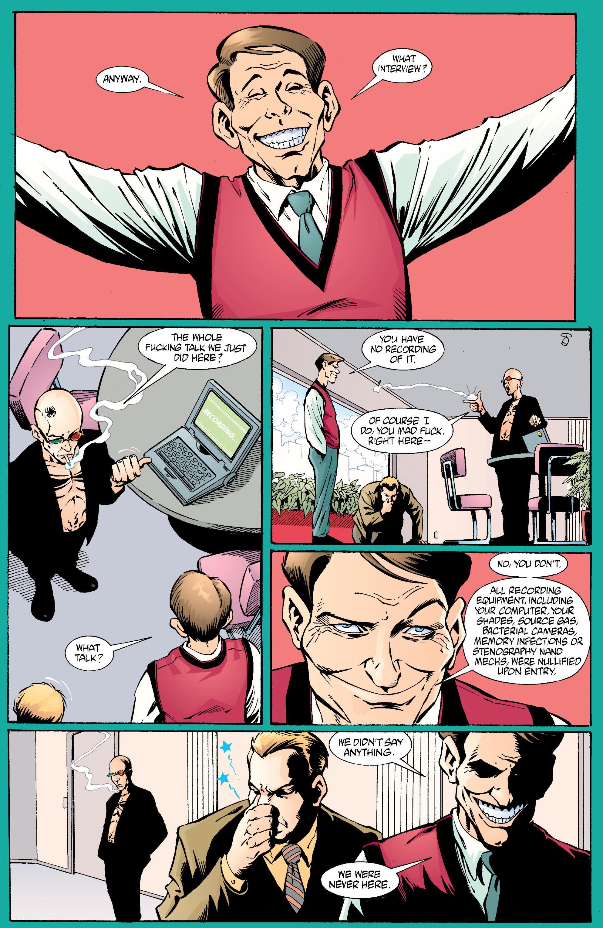 Read online Transmetropolitan comic -  Issue #23 - 22