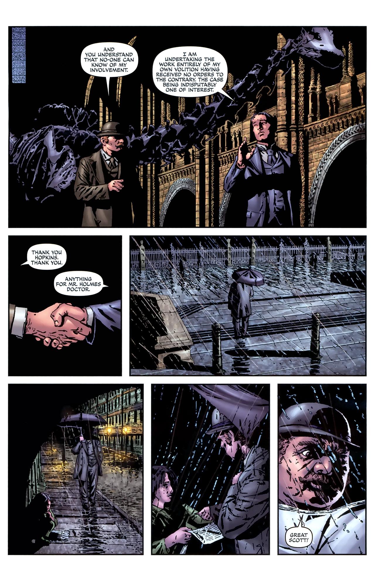 Read online Sherlock Holmes (2009) comic -  Issue #4 - 15