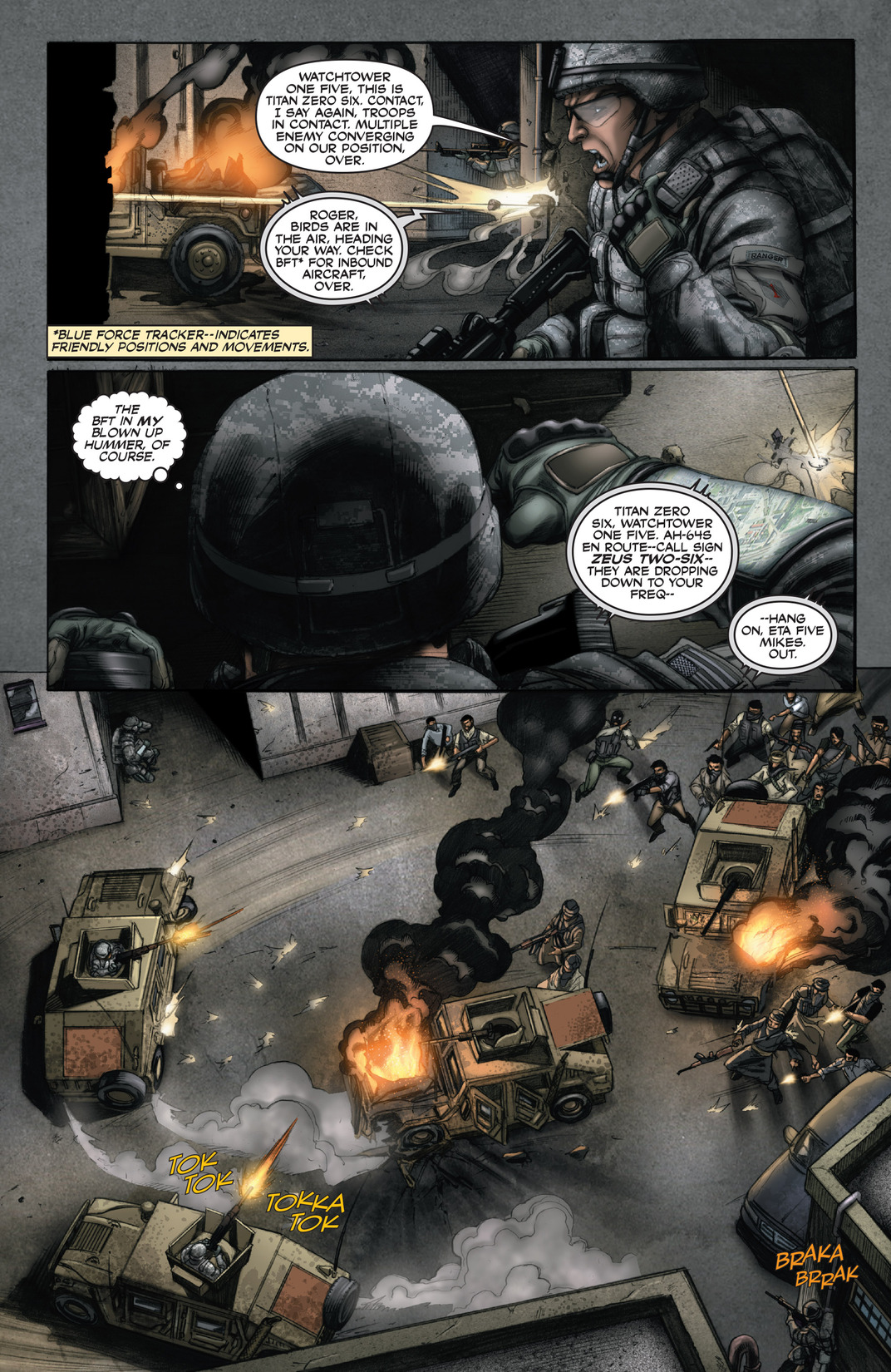 Read online America's Army comic -  Issue #13 - 15