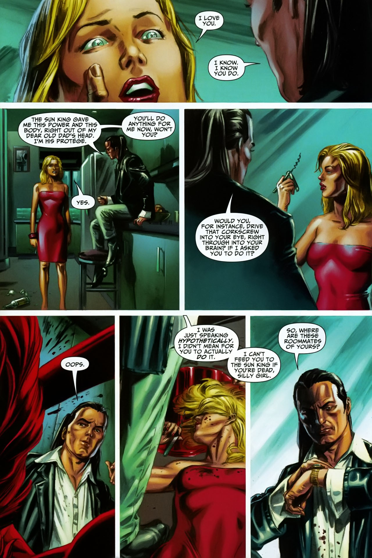 Read online Shadowpact comic -  Issue #17 - 17
