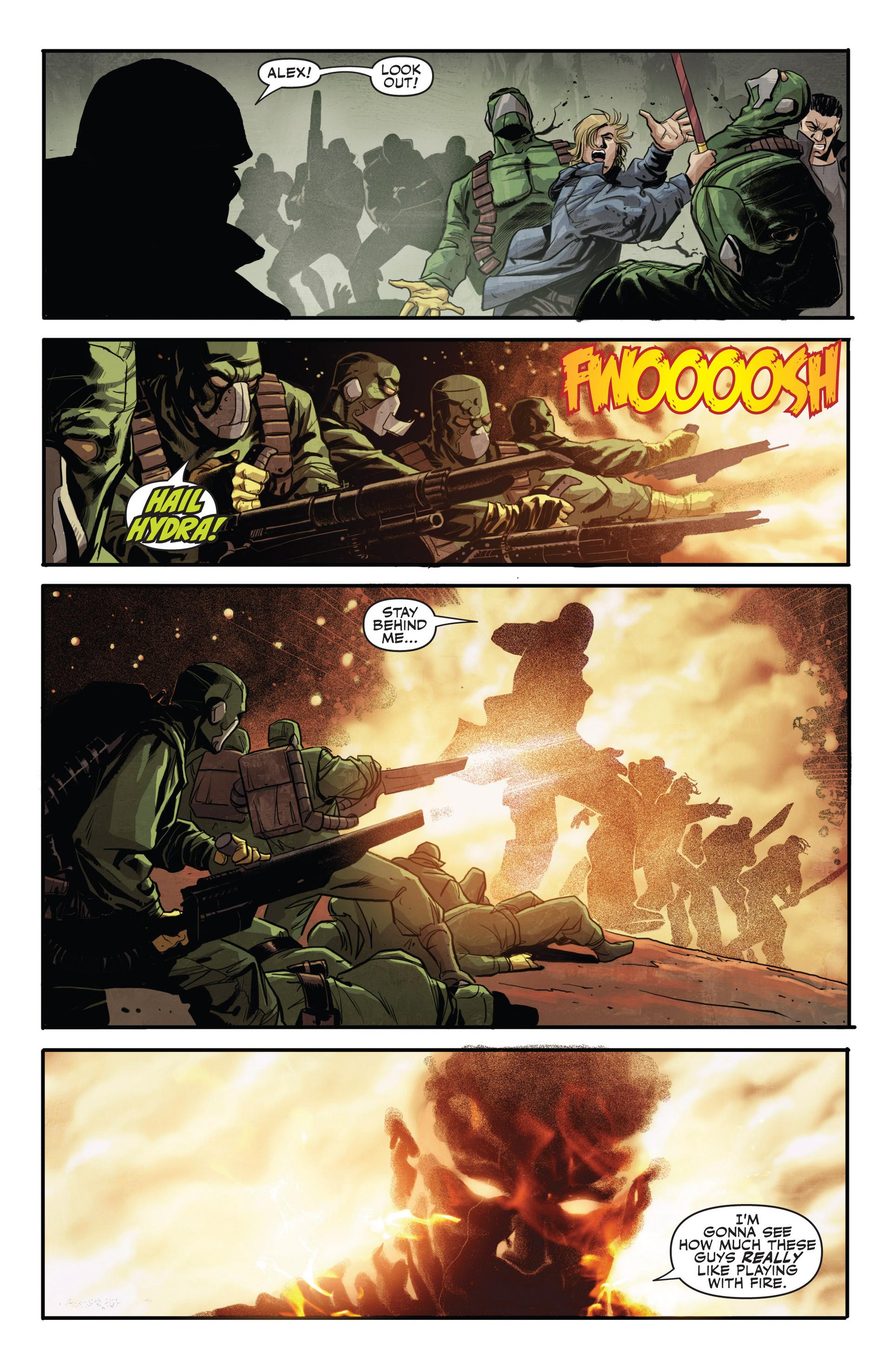 Read online Secret Warriors comic -  Issue #20 - 20