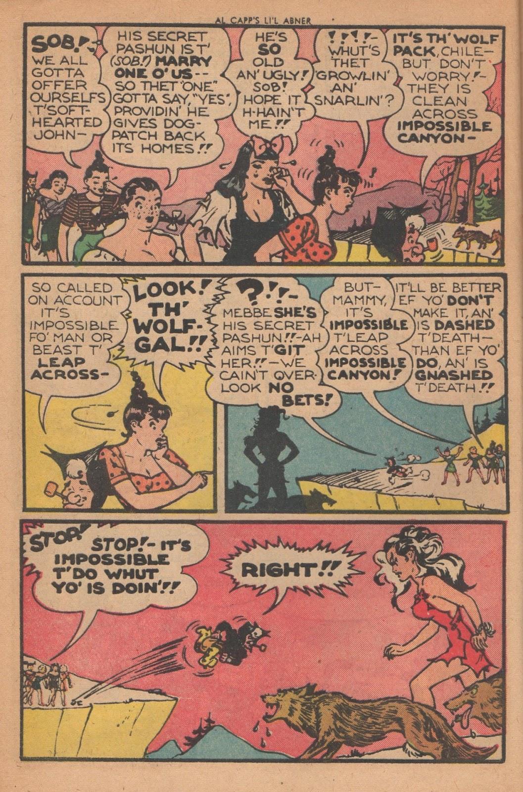 Li'l Abner Comics issue 77 - Page 6